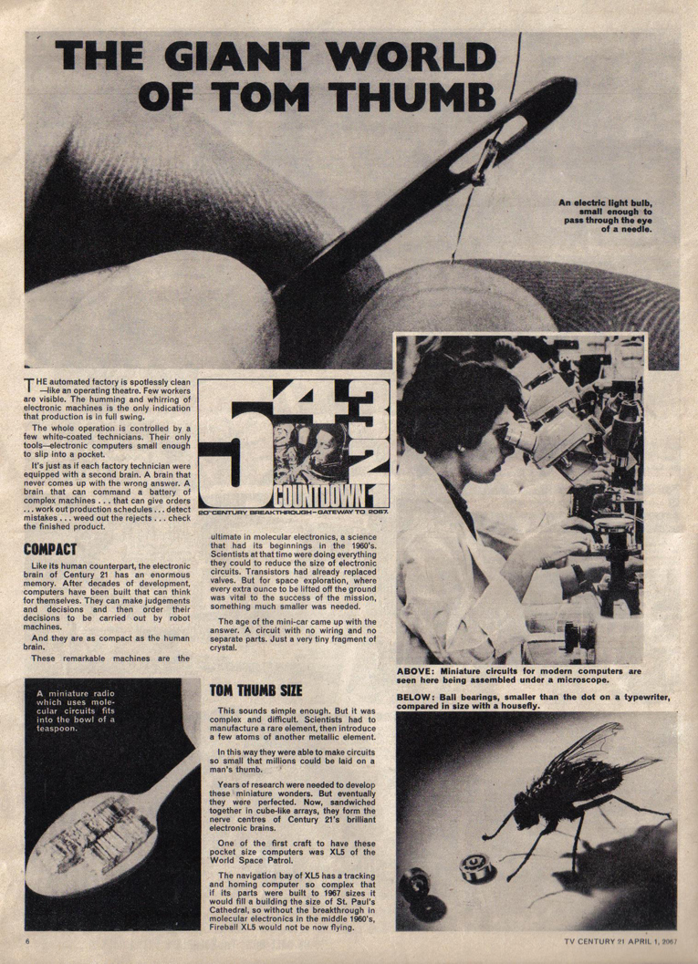 TV Century 21 (TV 21) issue 115 - Page 6