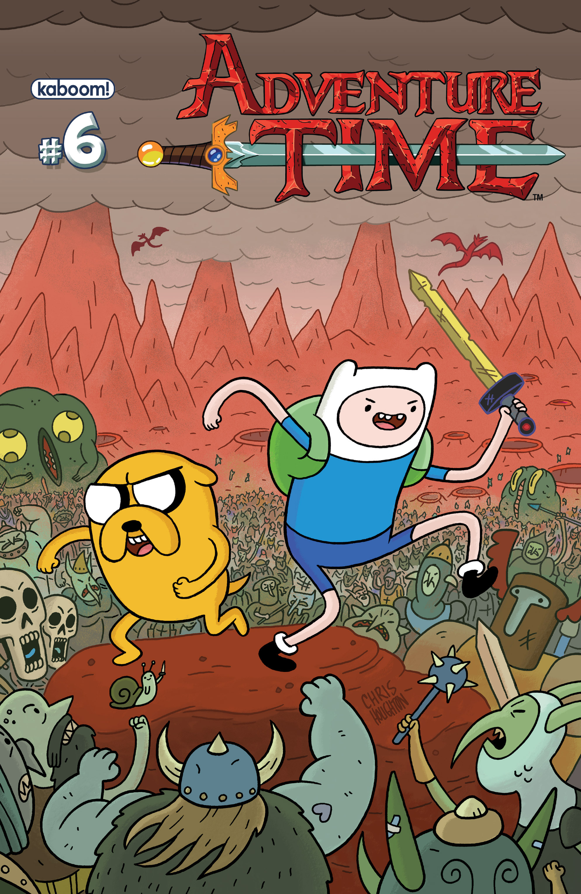Read online Adventure Time comic -  Issue #6 - 1