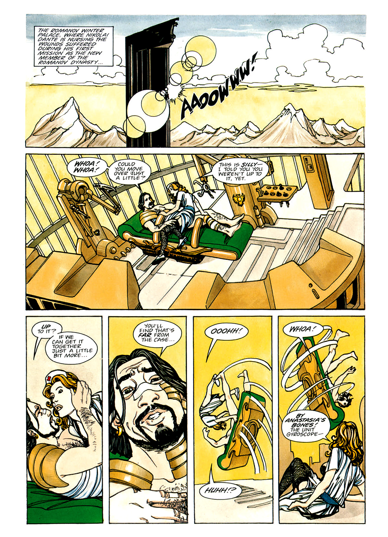 Read online Nikolai Dante comic -  Issue # TPB 1 - 87