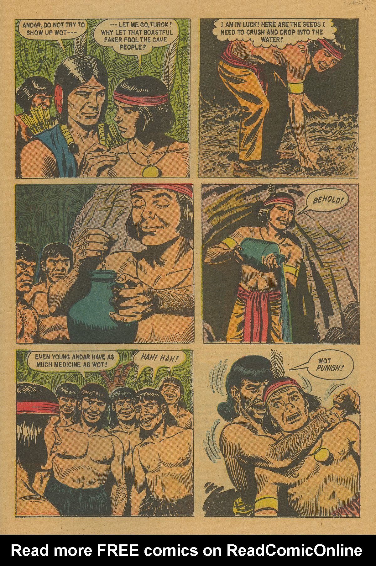 Read online Turok, Son of Stone comic -  Issue #21 - 23