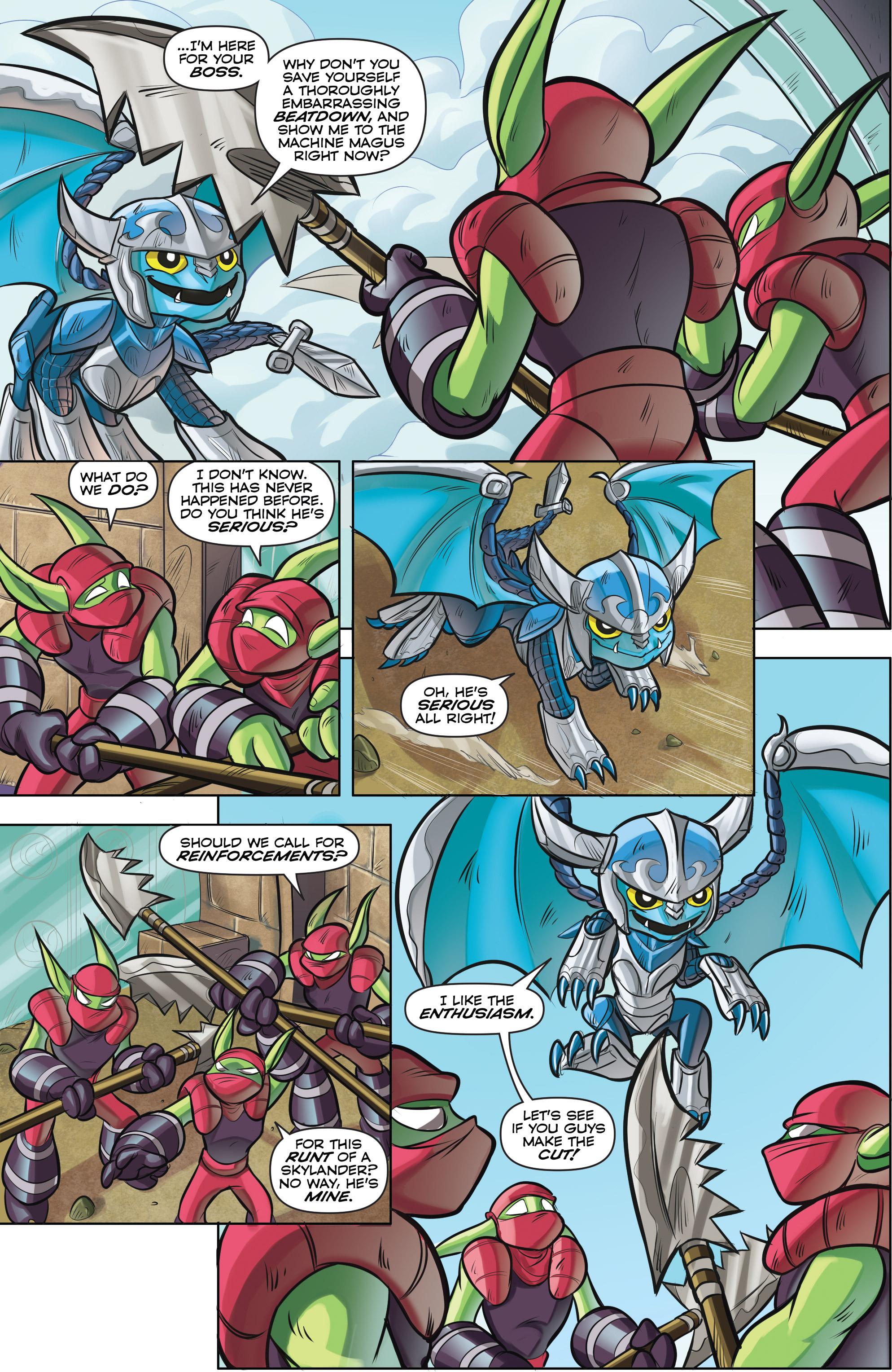 Read online Skylanders comic -  Issue #5 - 10