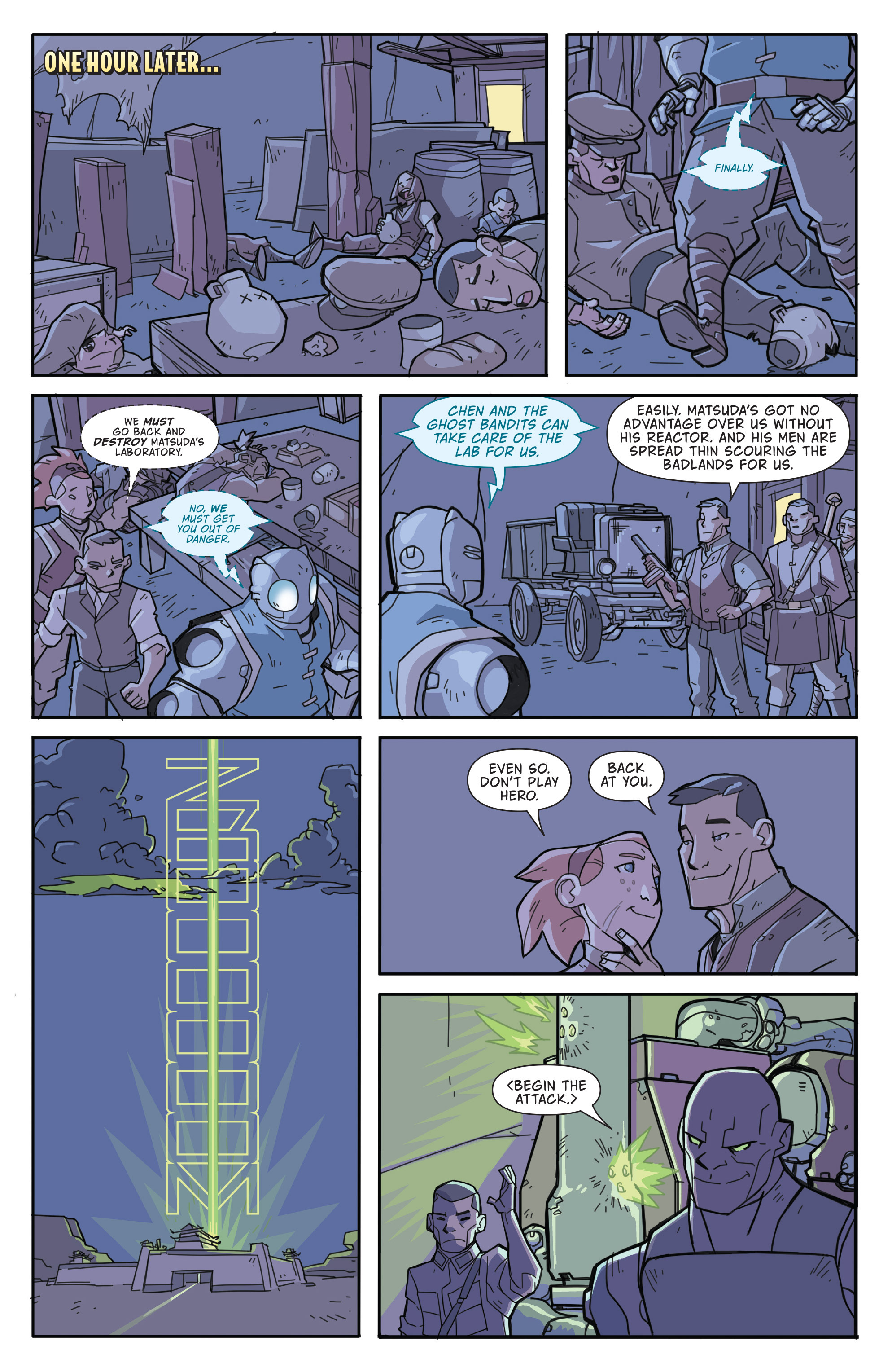 Read online Atomic Robo and the Temple of Od comic -  Issue #3 - 18