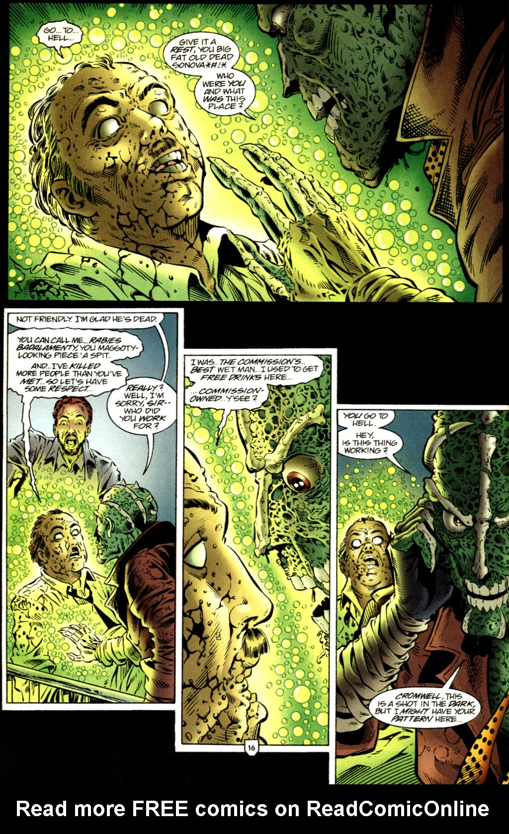 Read online UltraForce (1995) comic -  Issue #2 - 17