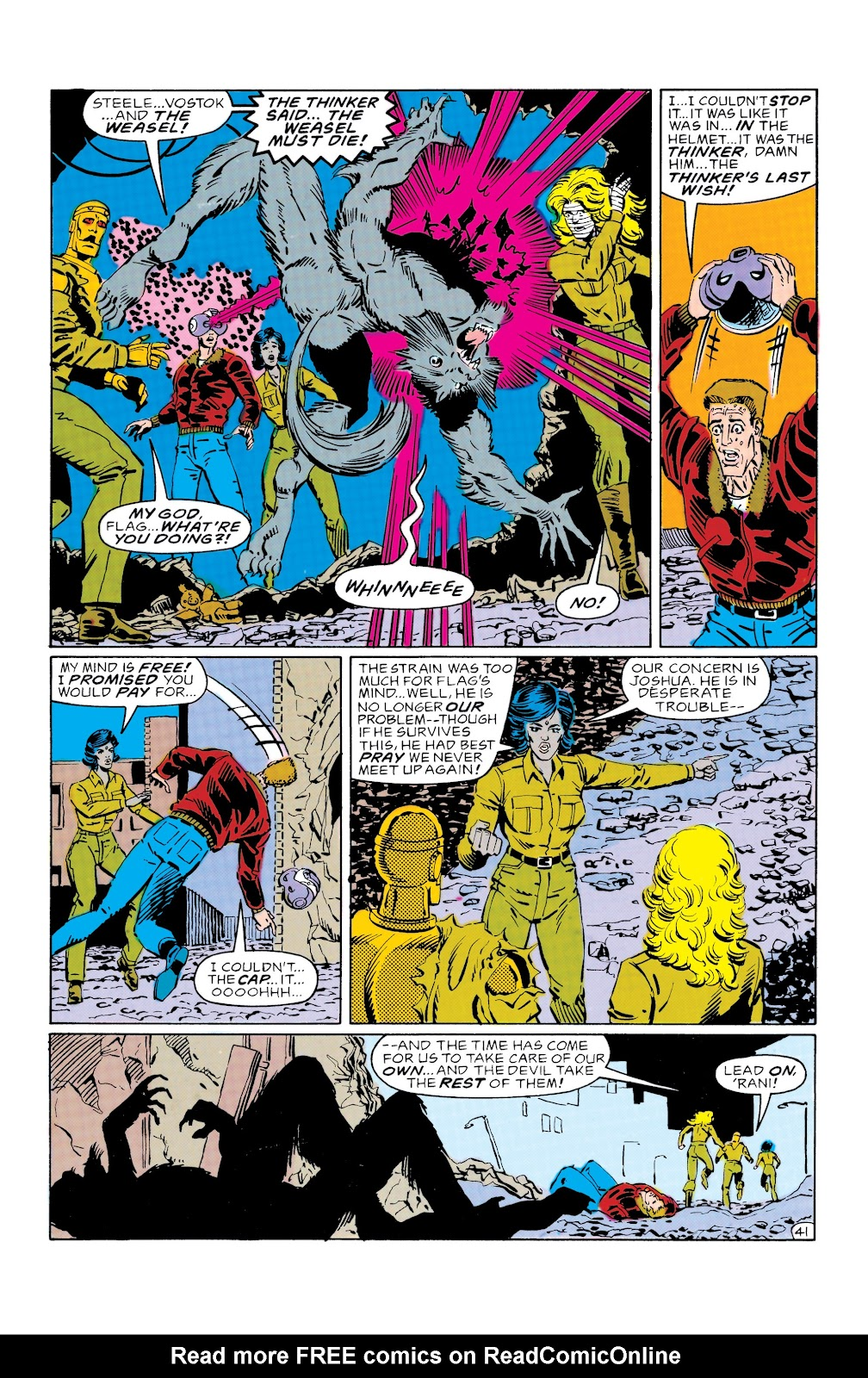 Doom Patrol and Suicide Squad Special issue Special 1 - Page 40