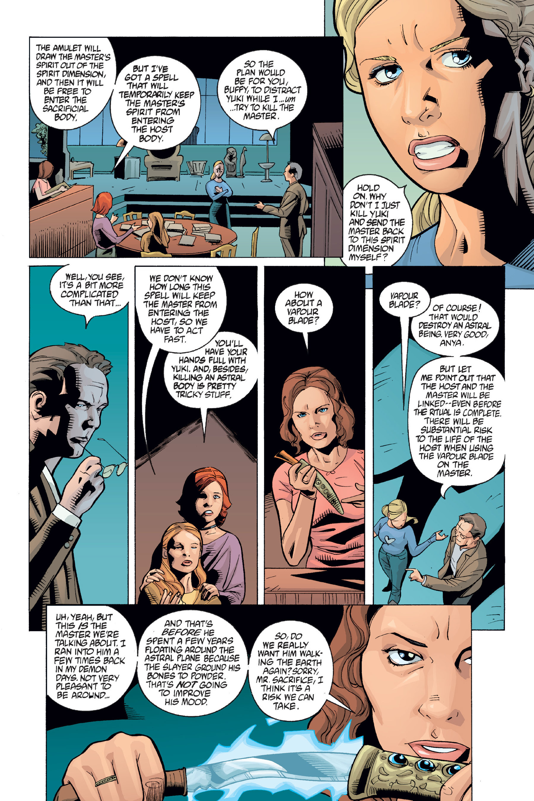 Read online Buffy the Vampire Slayer: Omnibus comic -  Issue # TPB 6 - 373