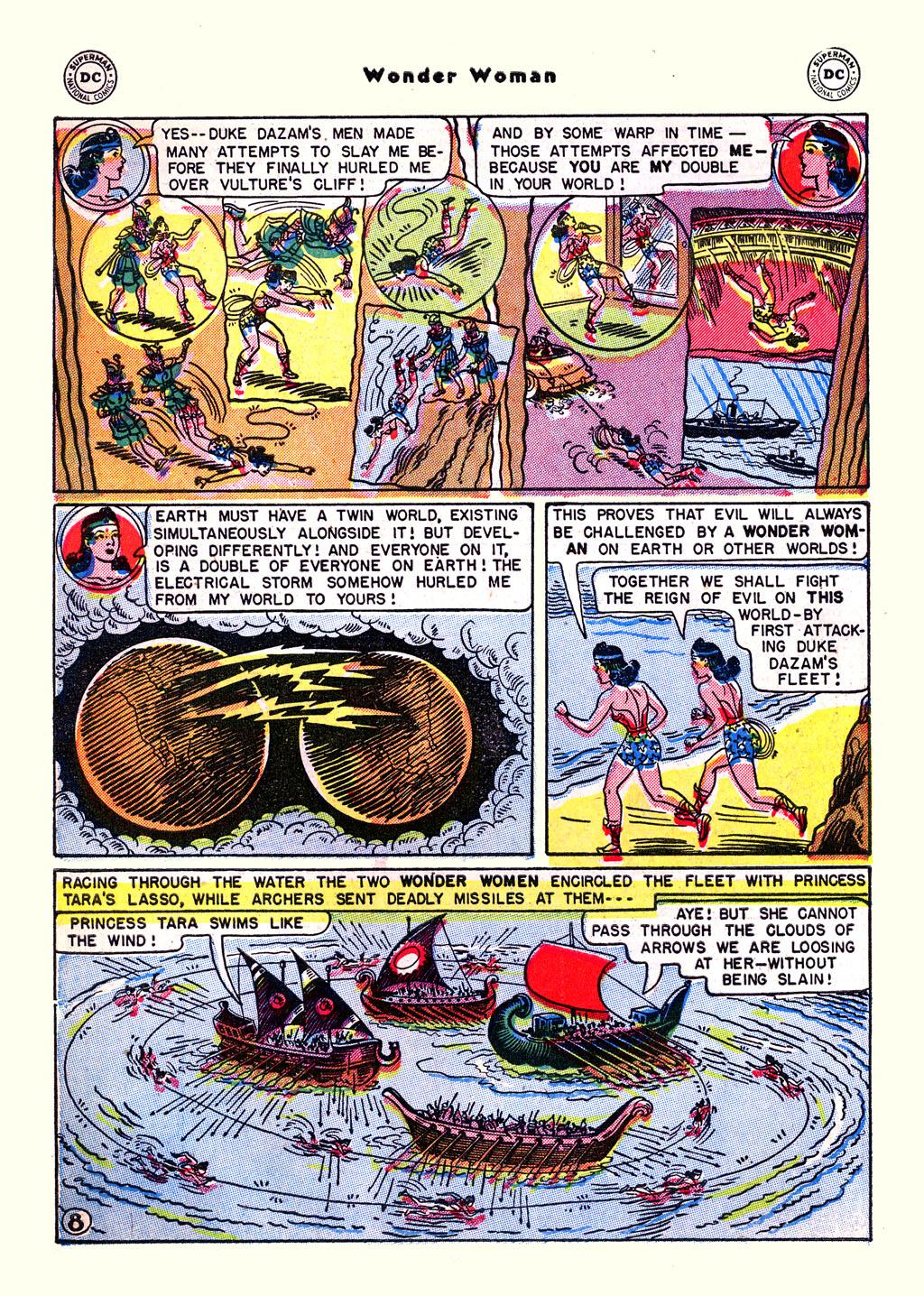 Read online Wonder Woman (1942) comic -  Issue #59 - 10