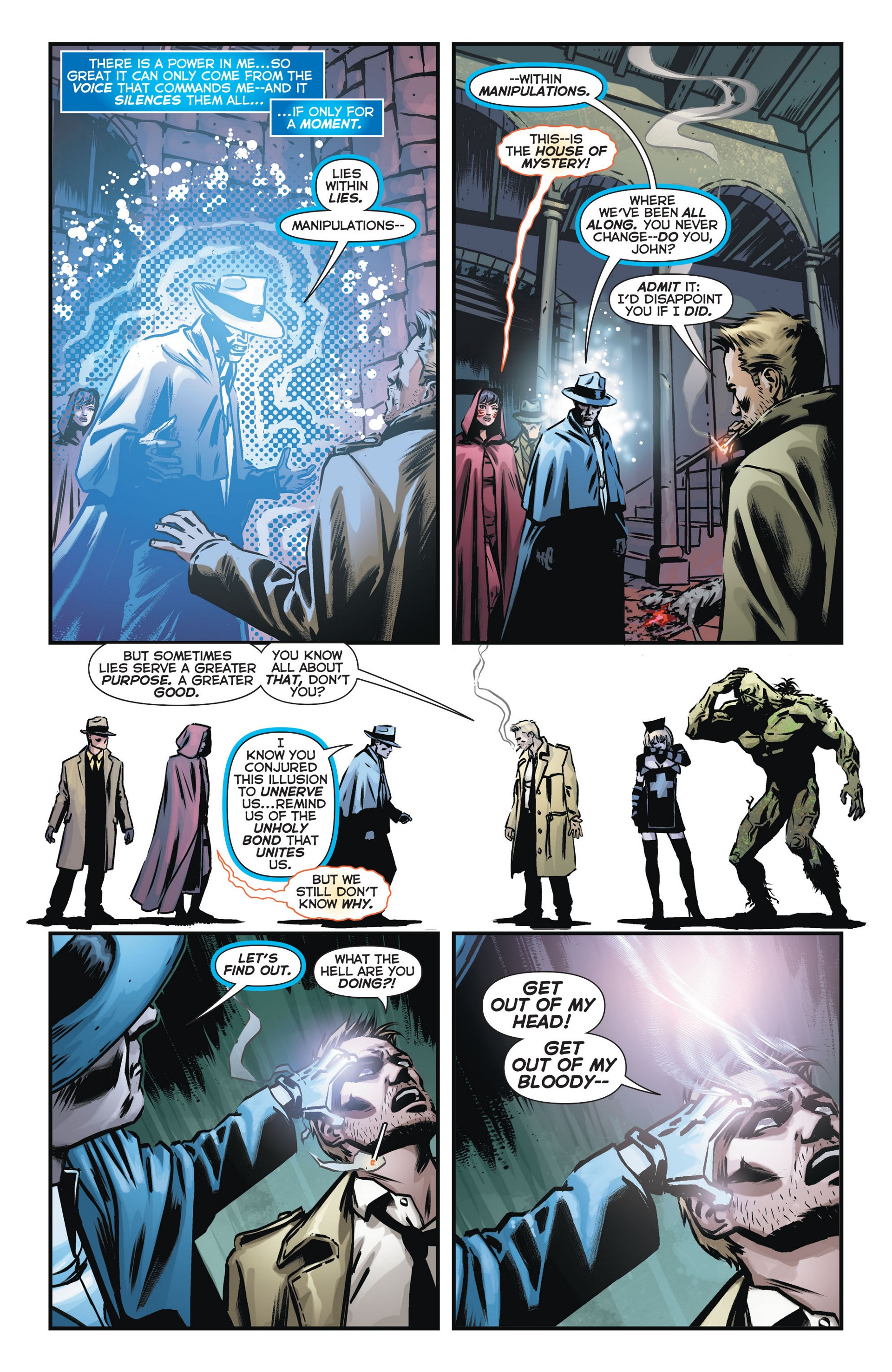 Read online Trinity of Sin: The Phantom Stranger comic -  Issue #14 - 7