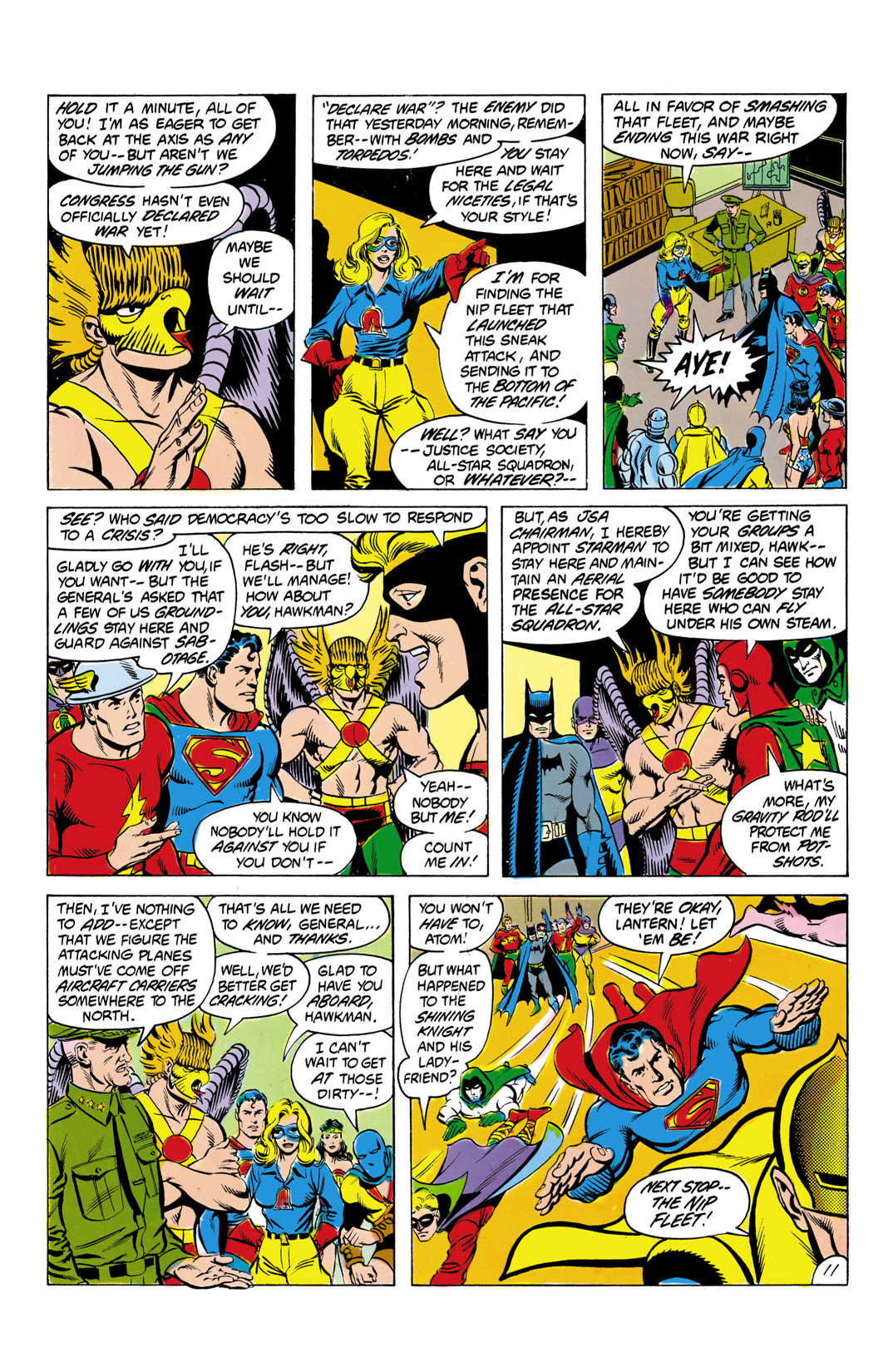 Read online All-Star Squadron comic -  Issue #4 - 12