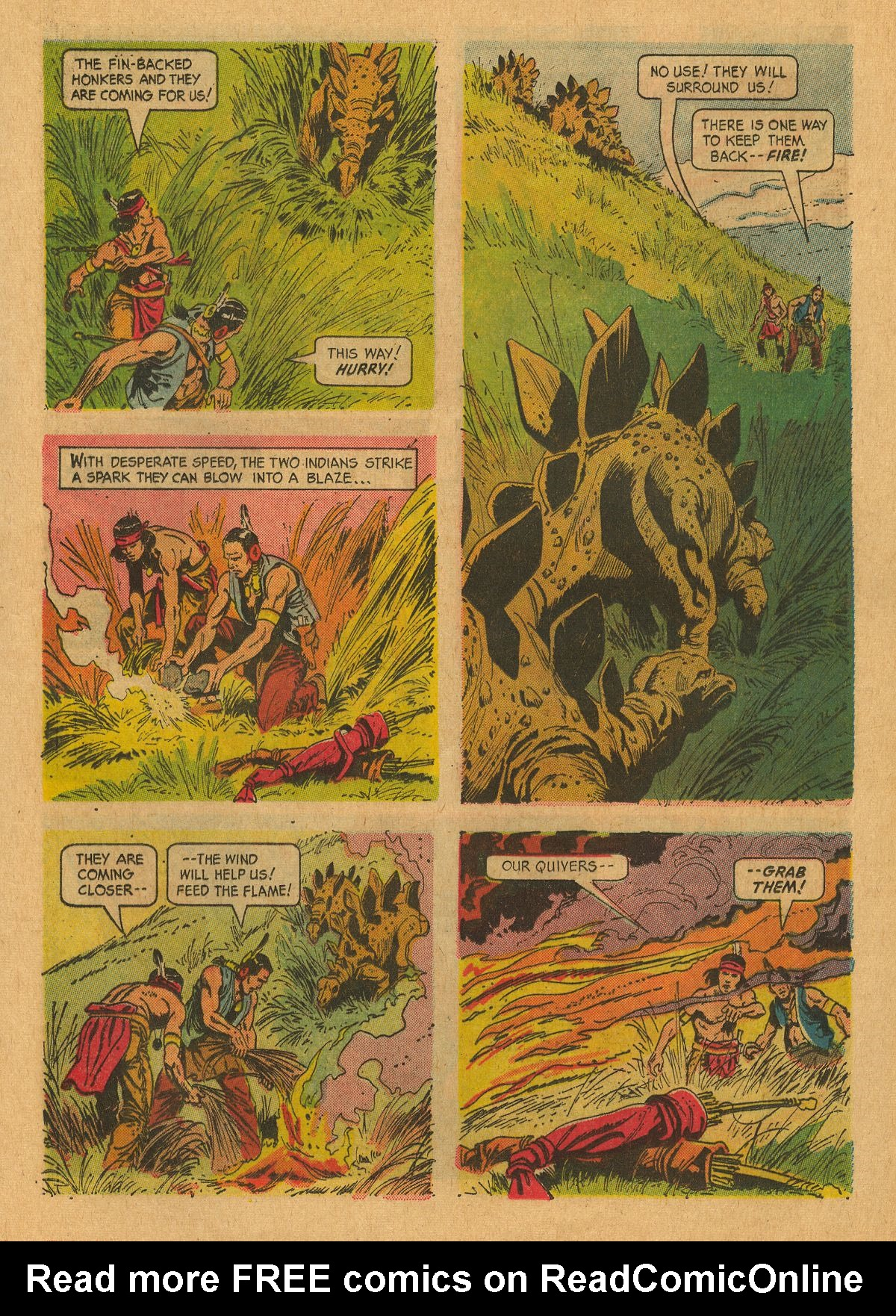Read online Turok, Son of Stone comic -  Issue #49 - 13