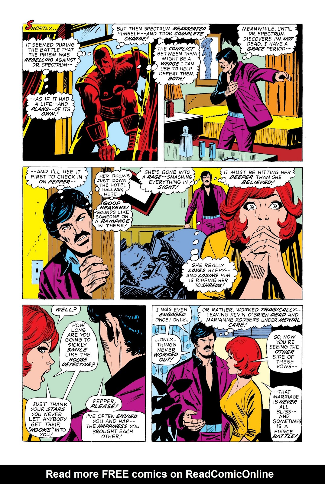 Read online Marvel Masterworks: The Invincible Iron Man comic -  Issue # TPB 9 (Part 3) - 12
