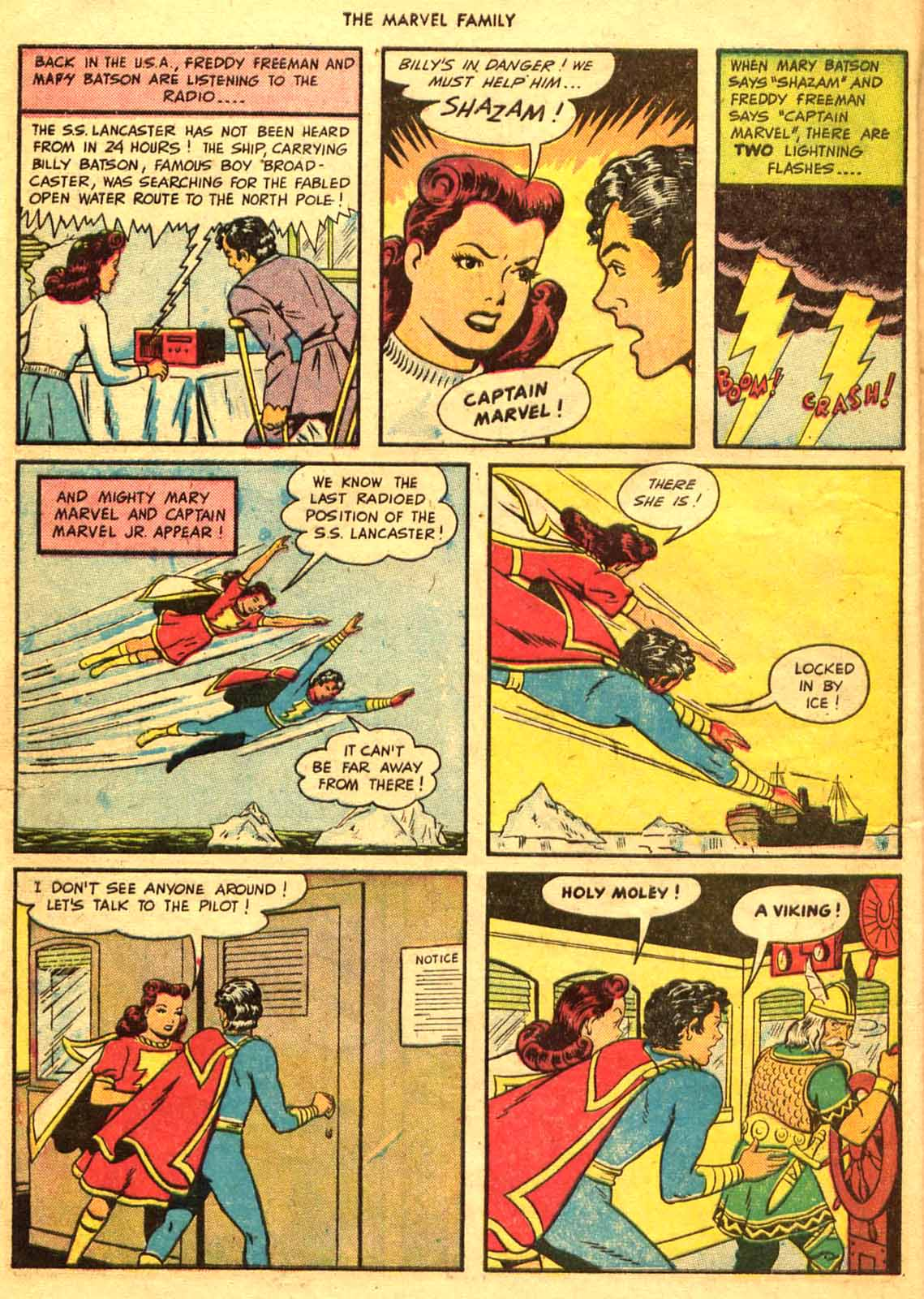 The Marvel Family issue 9 - Page 8