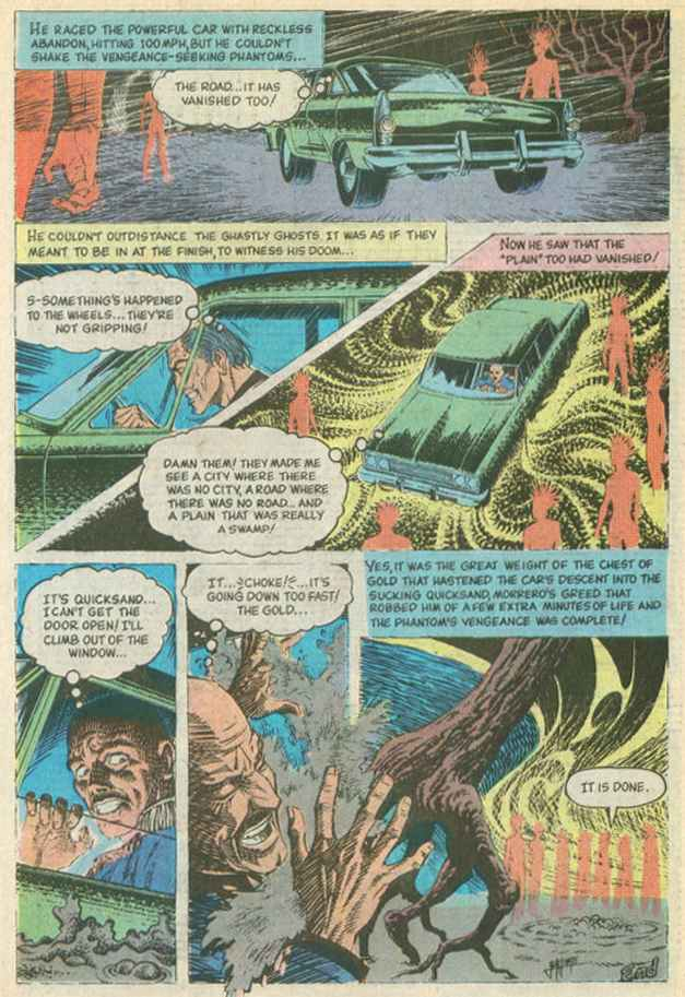 Read online Beyond the Grave (1983) comic -  Issue #10 - 25