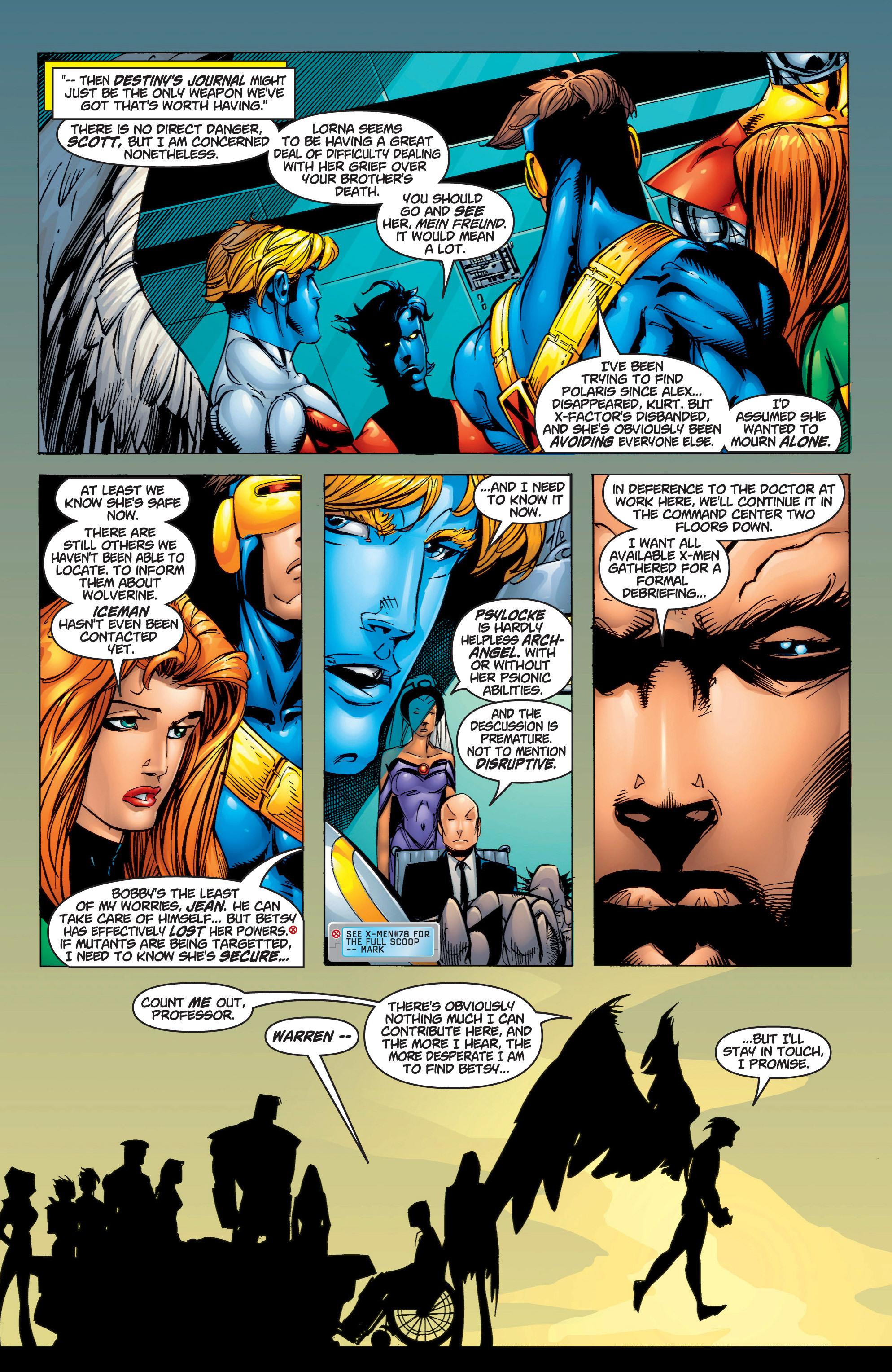 Read online Uncanny X-Men (1963) comic -  Issue #375 - 9