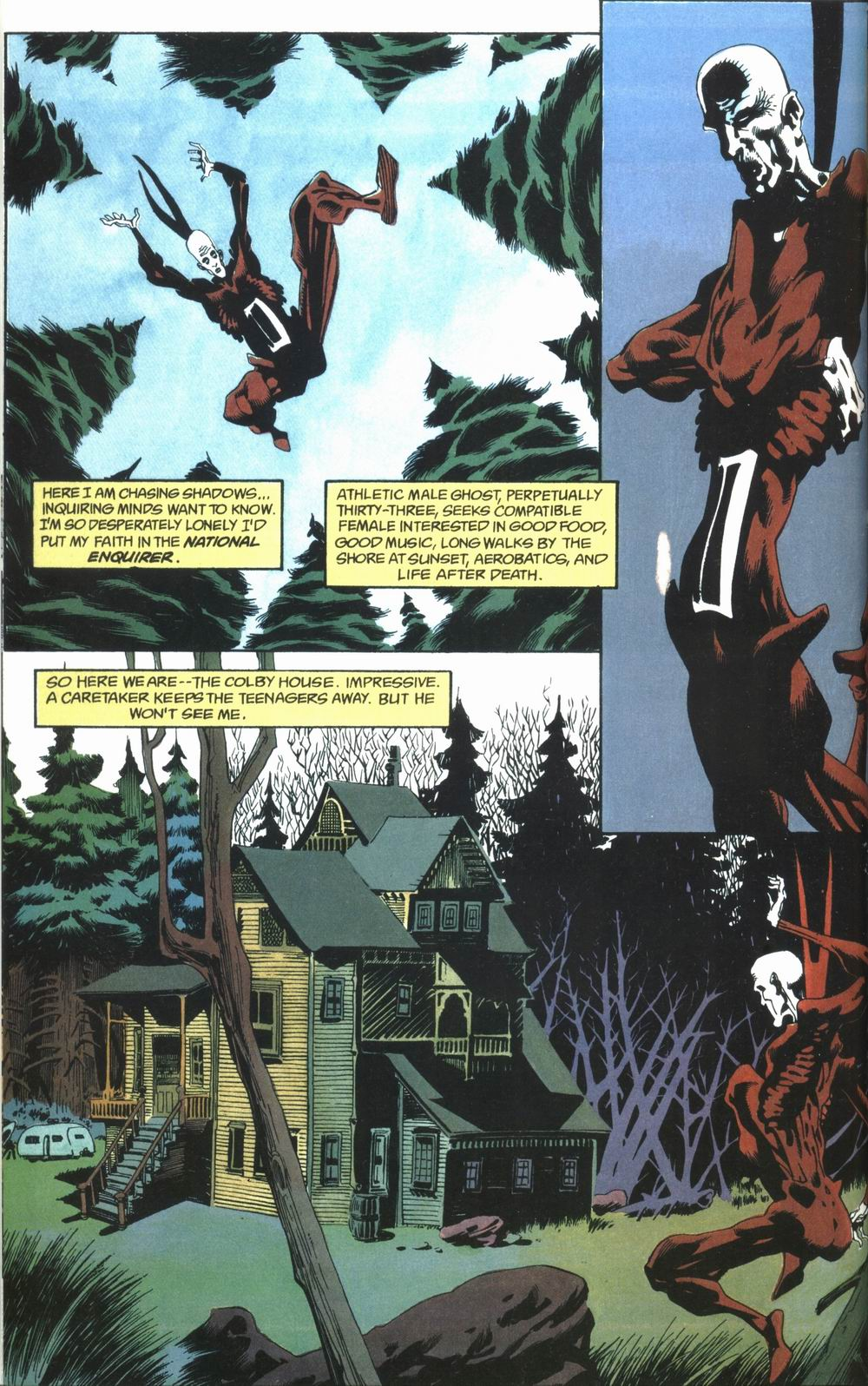 Read online Deadman: Love After Death comic -  Issue #1 - 8