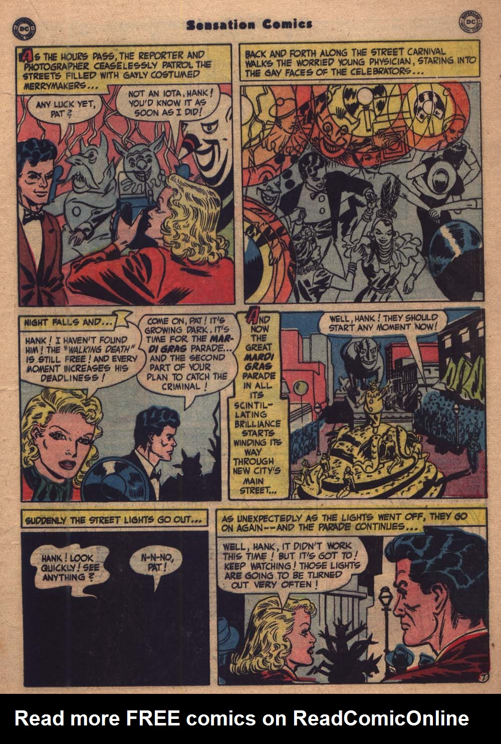 Read online Sensation (Mystery) Comics comic -  Issue #103 - 28