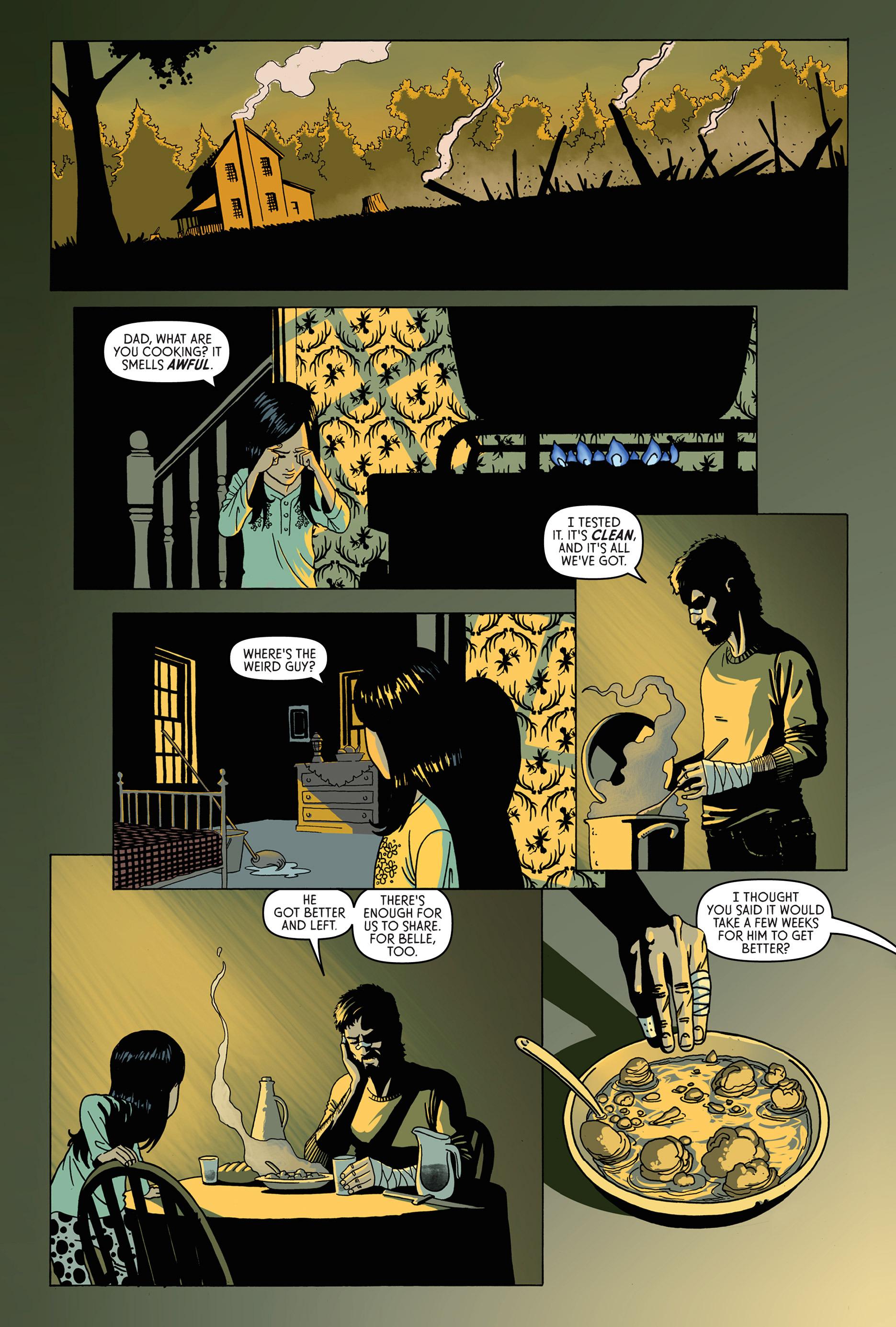 Read online Trespasser comic -  Issue #1 - 22