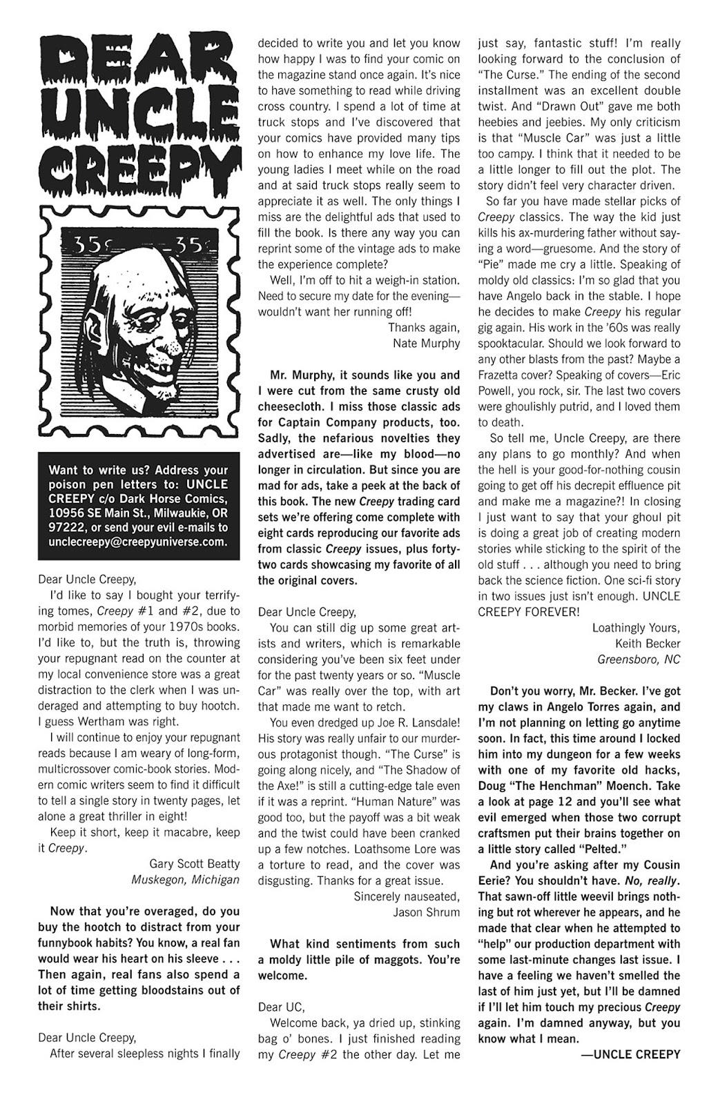 Creepy (2009) Issue #3 #3 - English 4