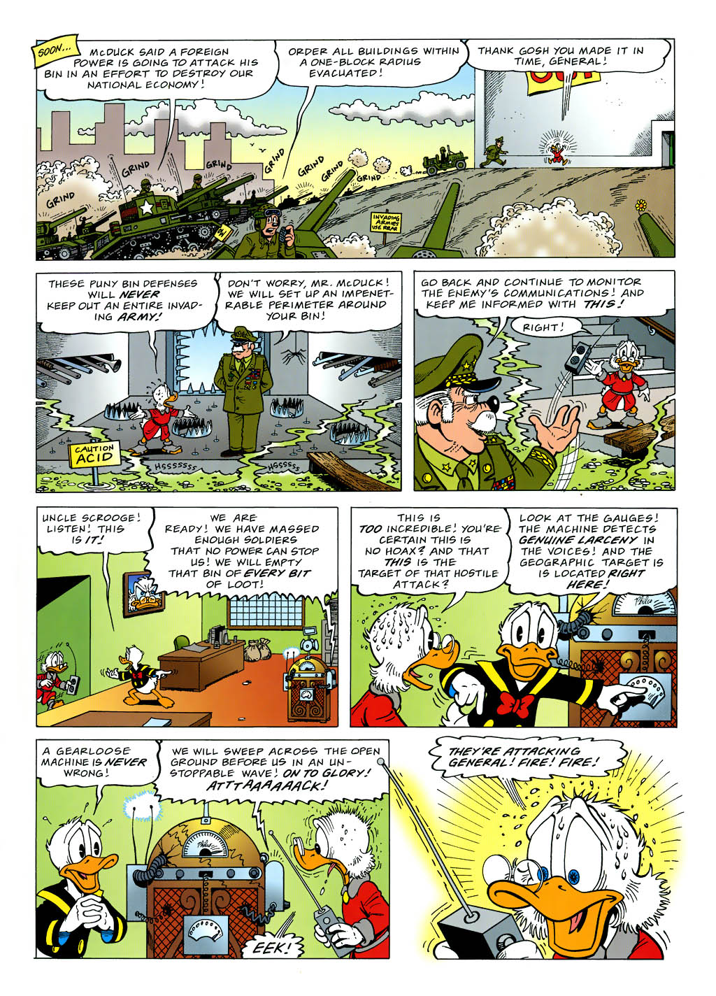 Read online Uncle Scrooge (1953) comic -  Issue #321 - 11