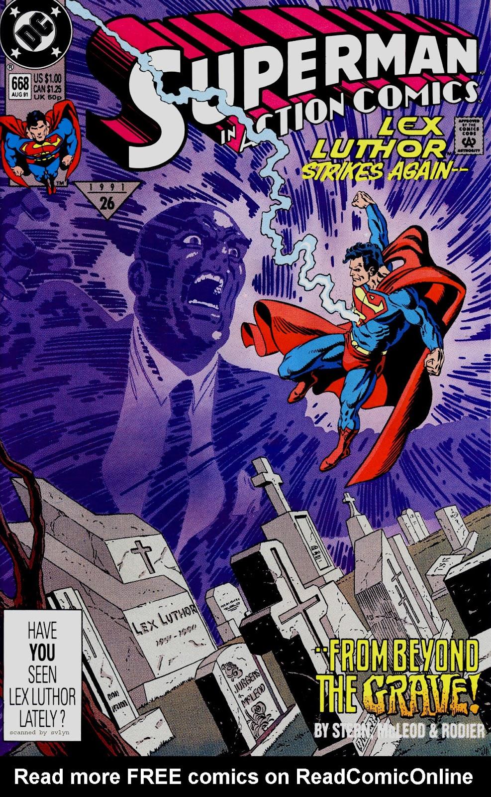 Action Comics (1938) 668 Page 1