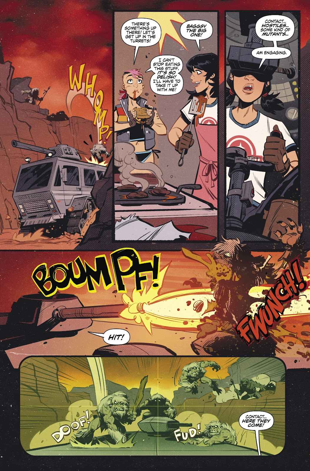 Read online Tank Girl Ongoing comic -  Issue #2 - 17