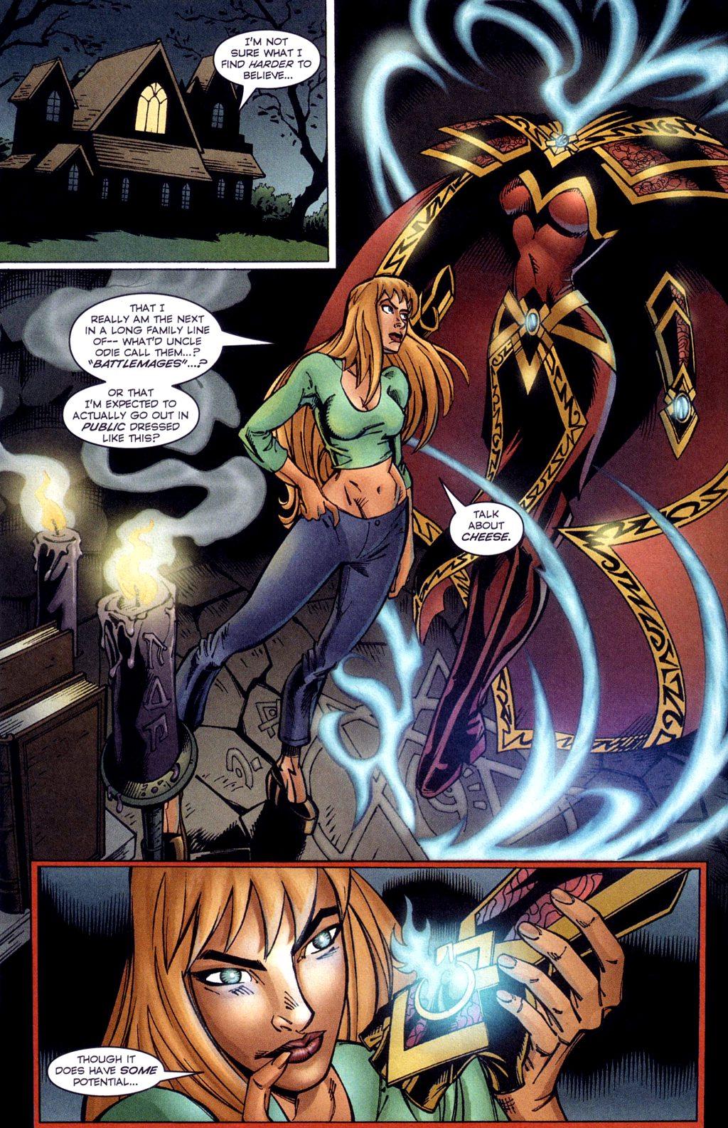 Read online Jezebelle comic -  Issue #3 - 19