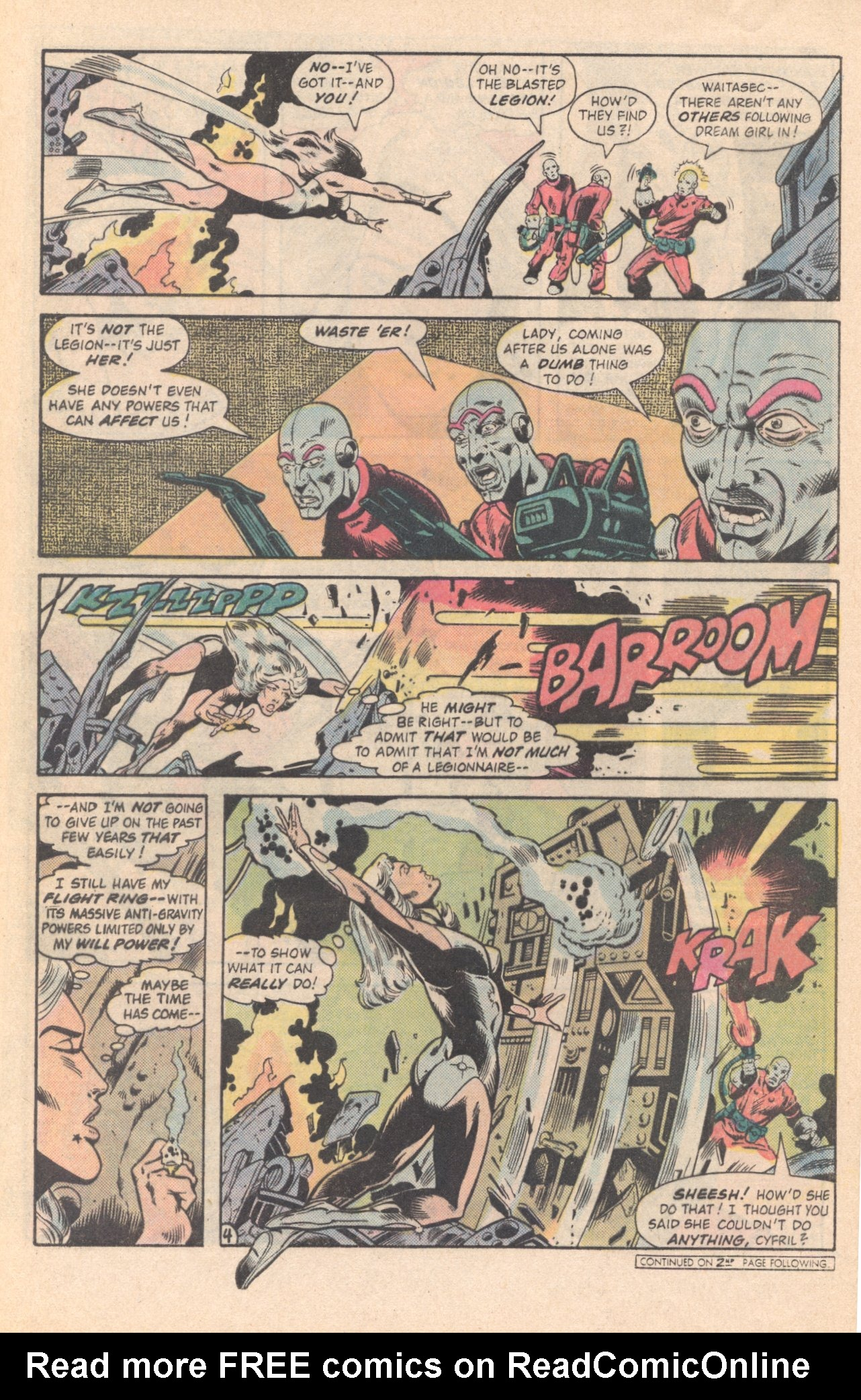 Legion of Super-Heroes (1980) 285 Page 23