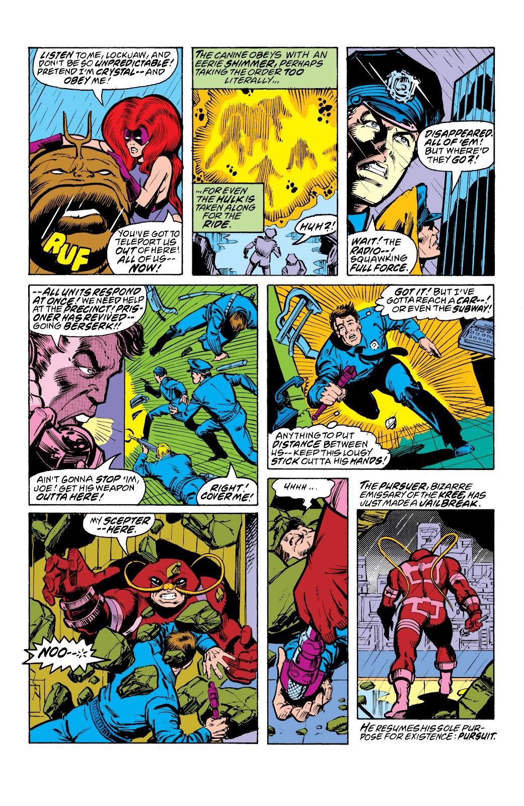 Read online Marvel Masterworks: The Inhumans comic -  Issue # TPB 2 (Part 3) - 7