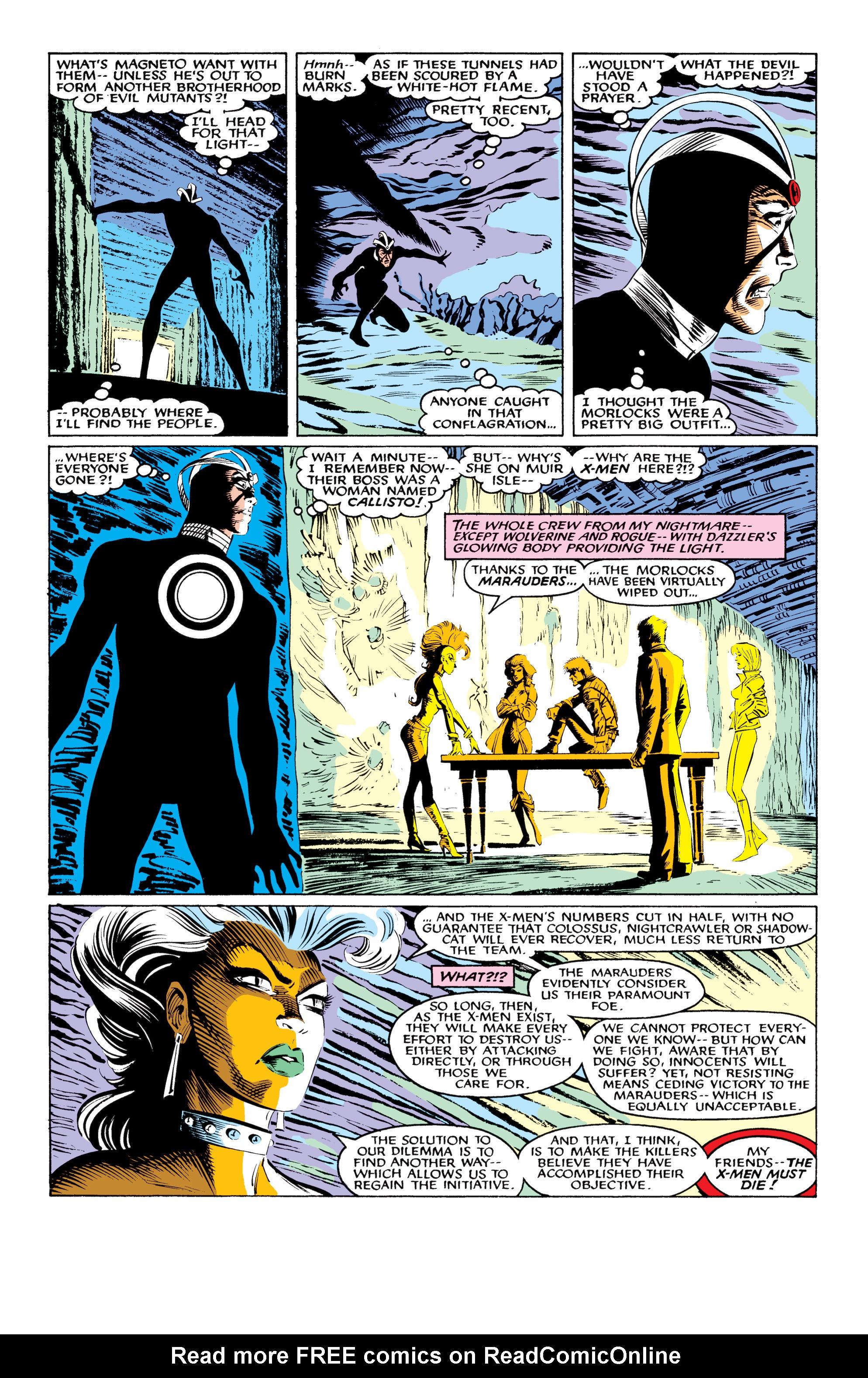 Read online Uncanny X-Men (1963) comic -  Issue #219 - 18