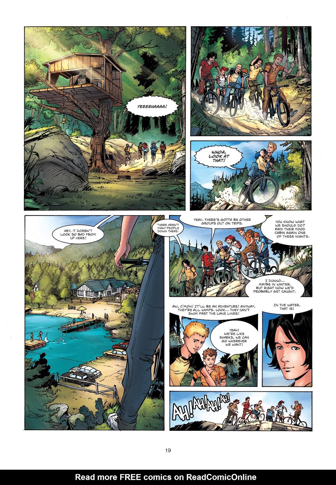 Read online Vigilantes comic -  Issue #1 - 19