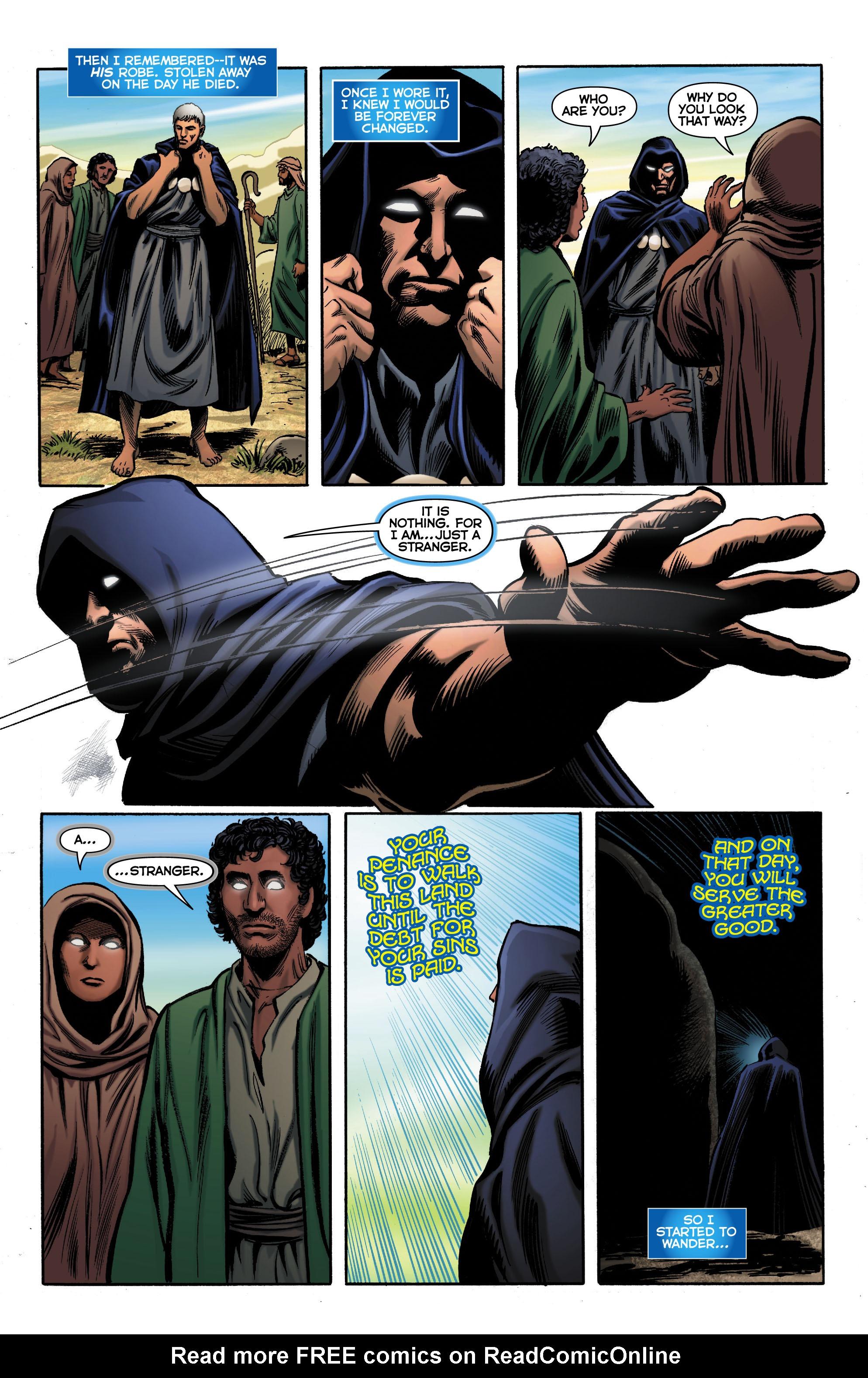 Read online Trinity of Sin: The Phantom Stranger comic -  Issue #0 - 9