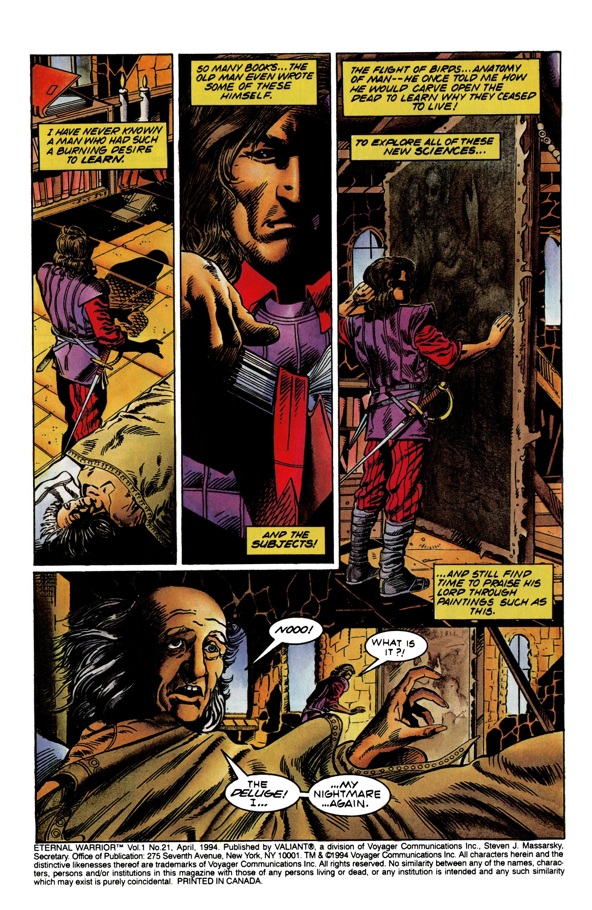 Read online Eternal Warrior (1992) comic -  Issue #21 - 3