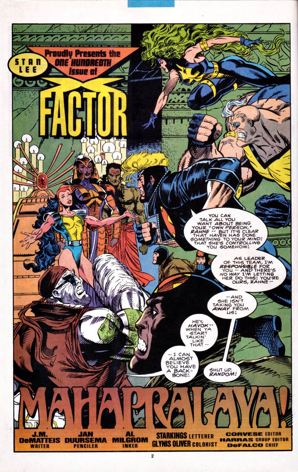 Read online X-Factor (1986) comic -  Issue #100 - 3