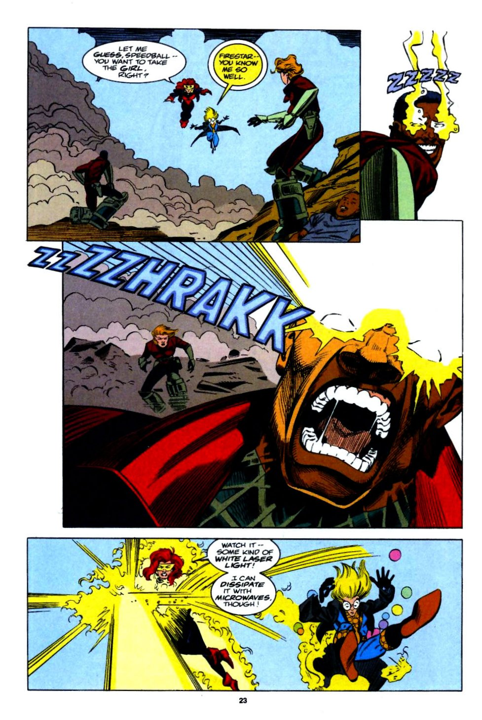 The New Warriors Issue #54 #58 - English 18