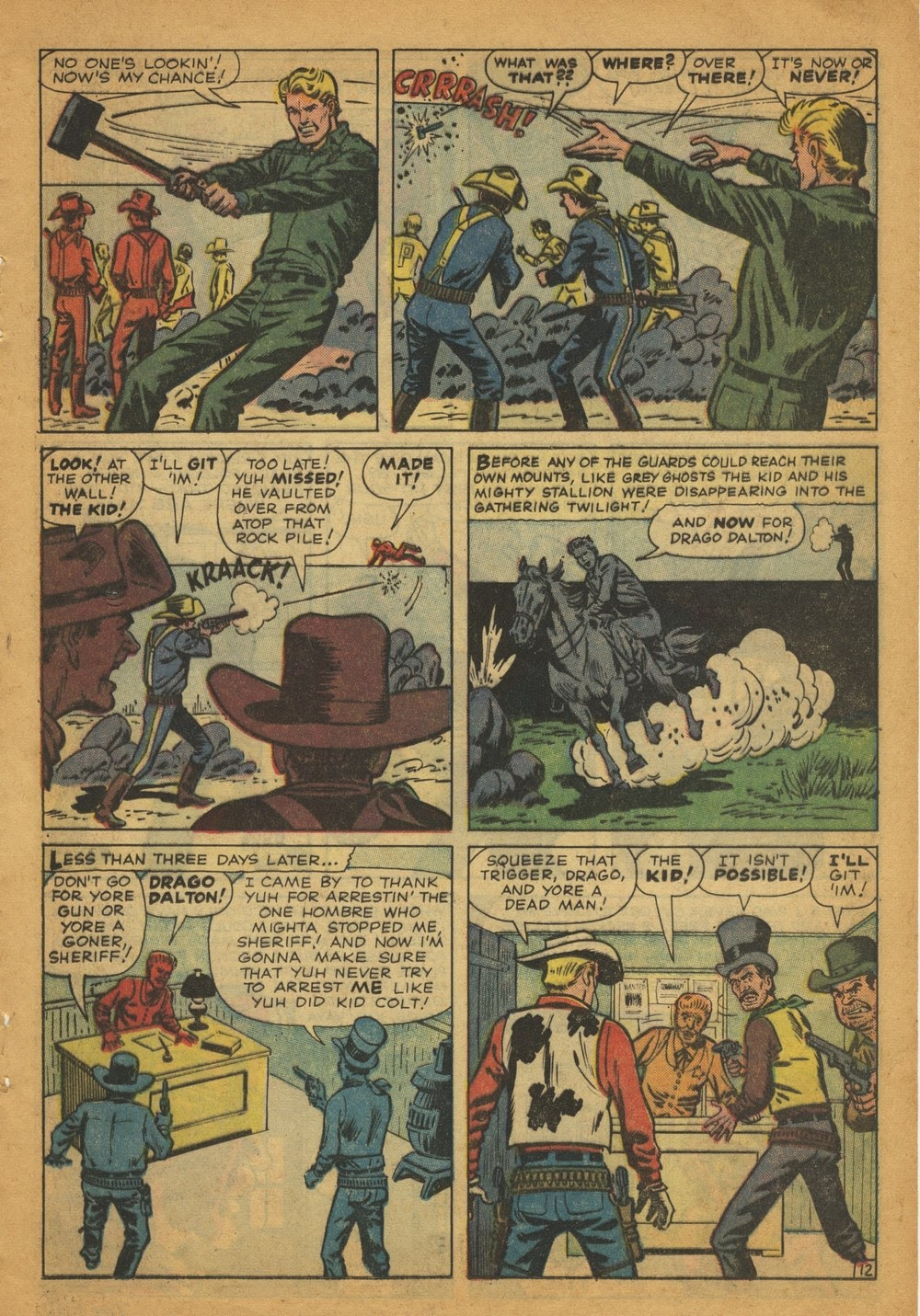 Kid Colt Outlaw issue 97 - Page 17