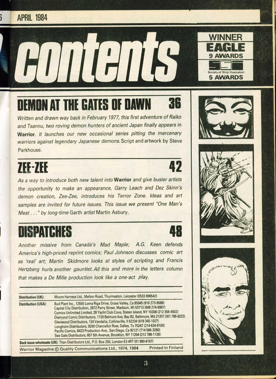 Warrior Issue #18 #19 - English 3