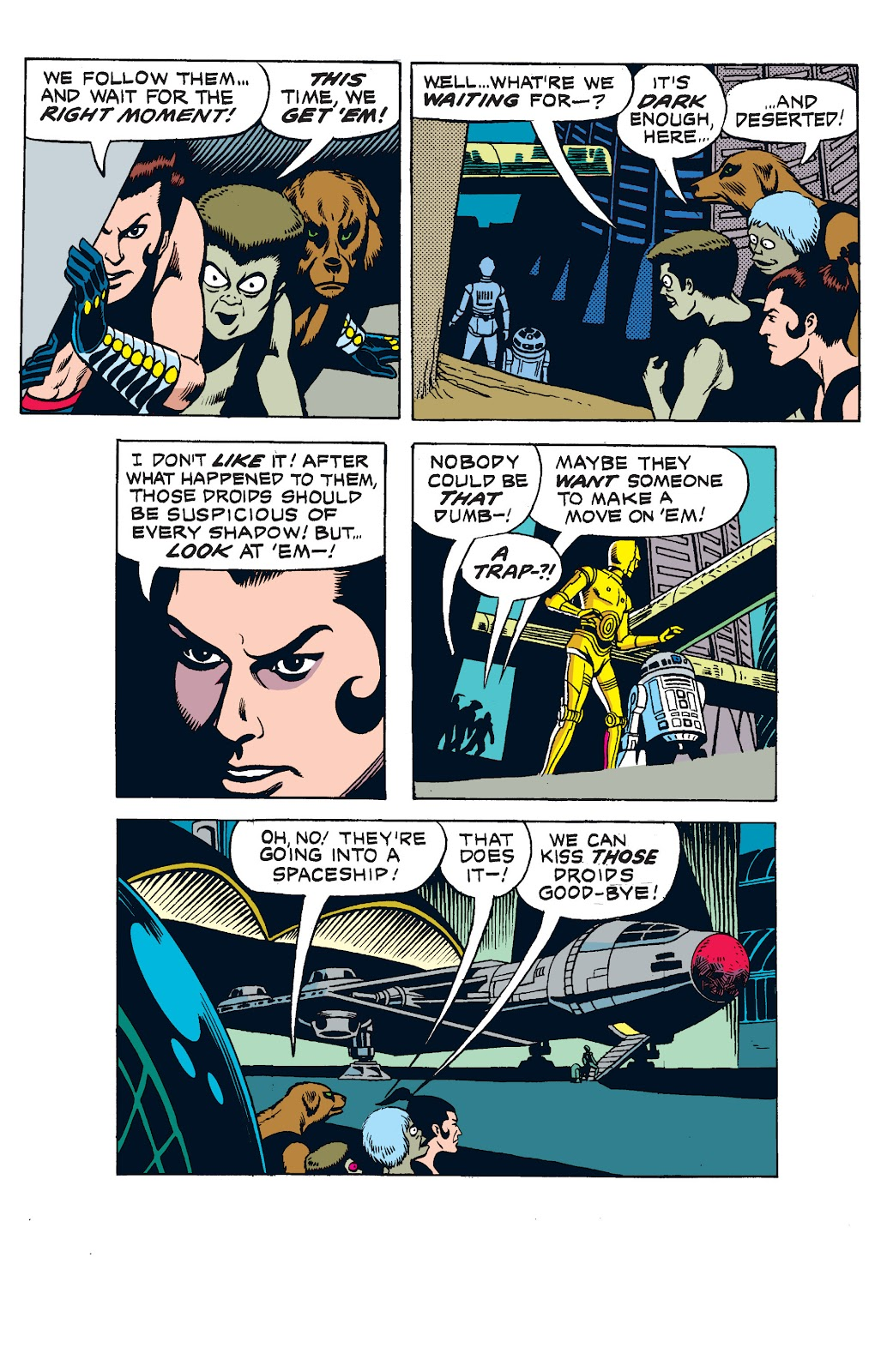 Read online Star Wars Legends: The Newspaper Strips - Epic Collection comic -  Issue # TPB (Part 1) - 92