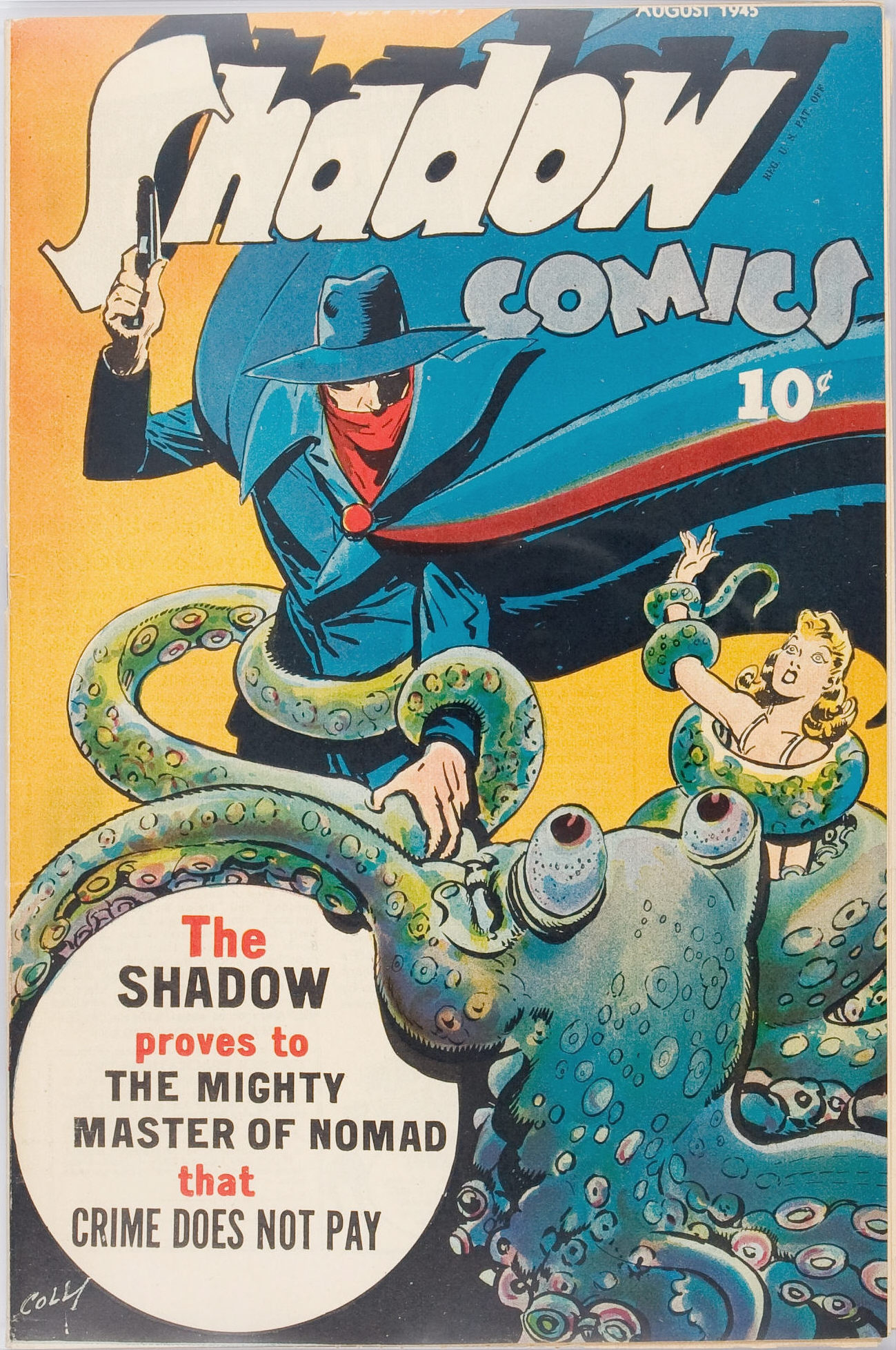 Read online Shadow Comics comic -  Issue #53 - 2