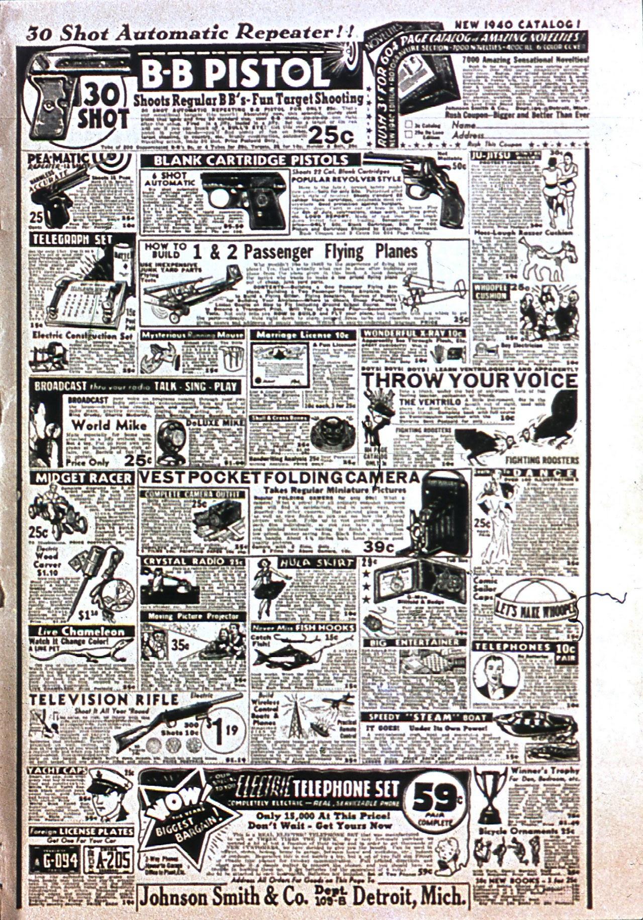 Read online Amazing Man Comics comic -  Issue #7 - 68