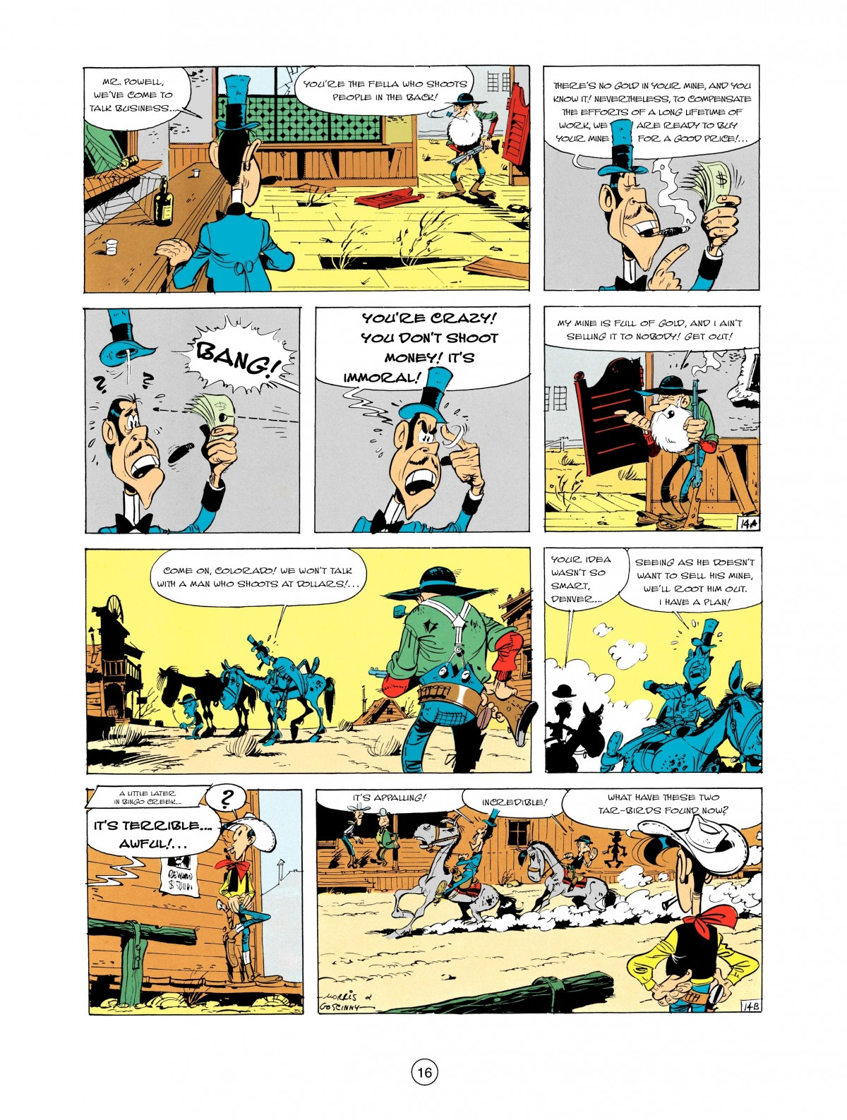 Read online A Lucky Luke Adventure comic -  Issue #2 - 18