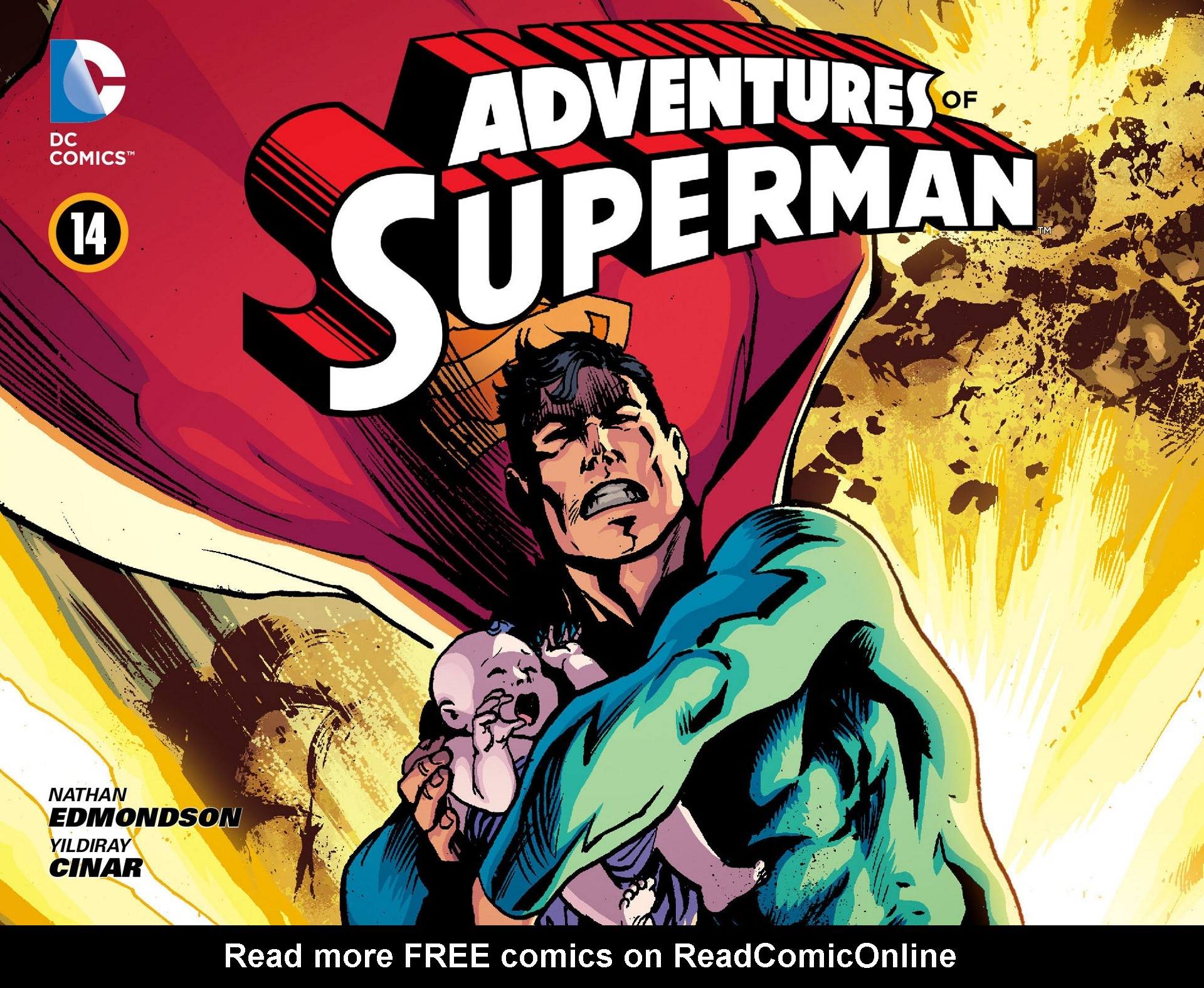Read online Adventures of Superman [I] comic -  Issue #14 - 1