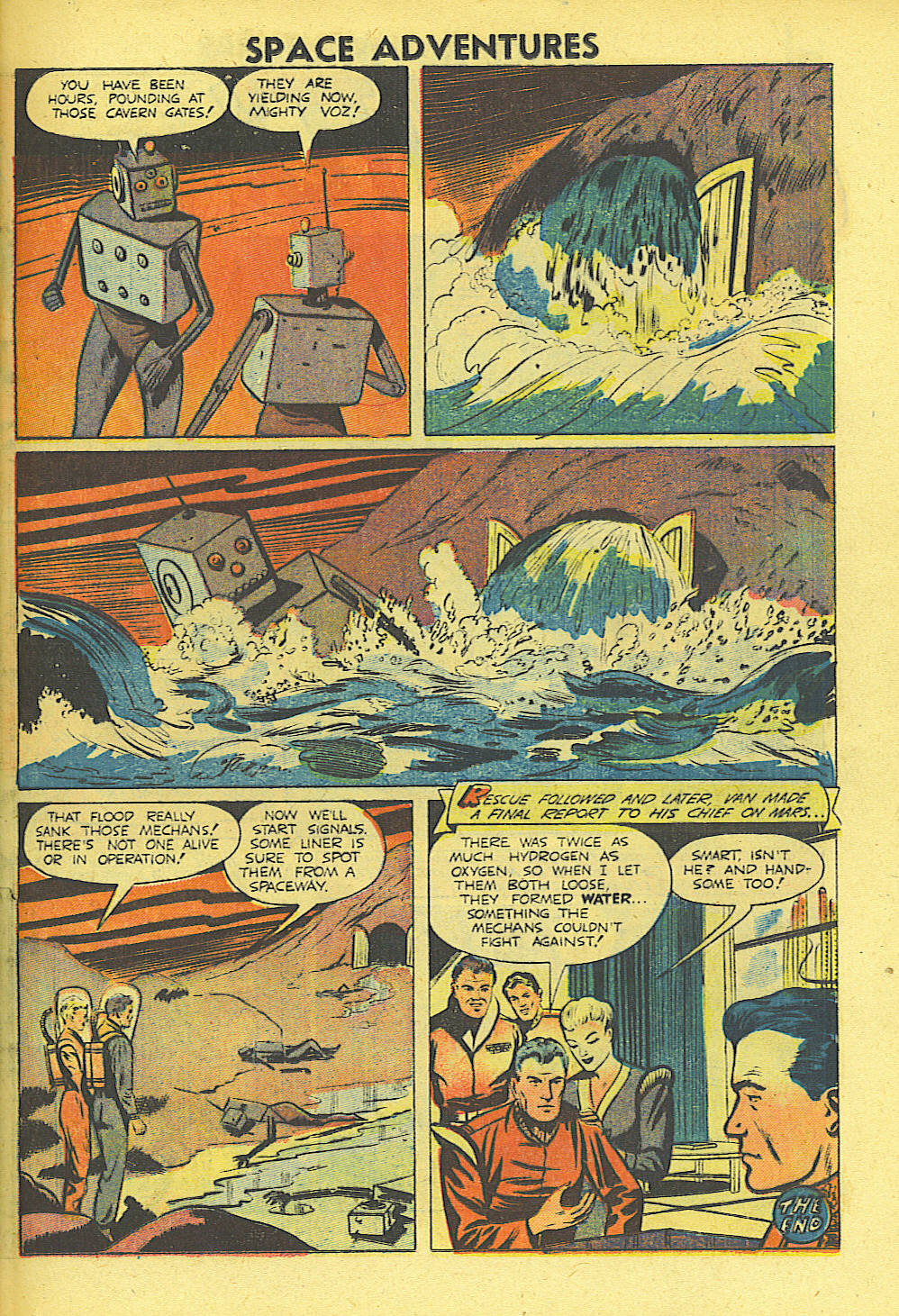 Space Adventures (1952) issue 4 - Page 18