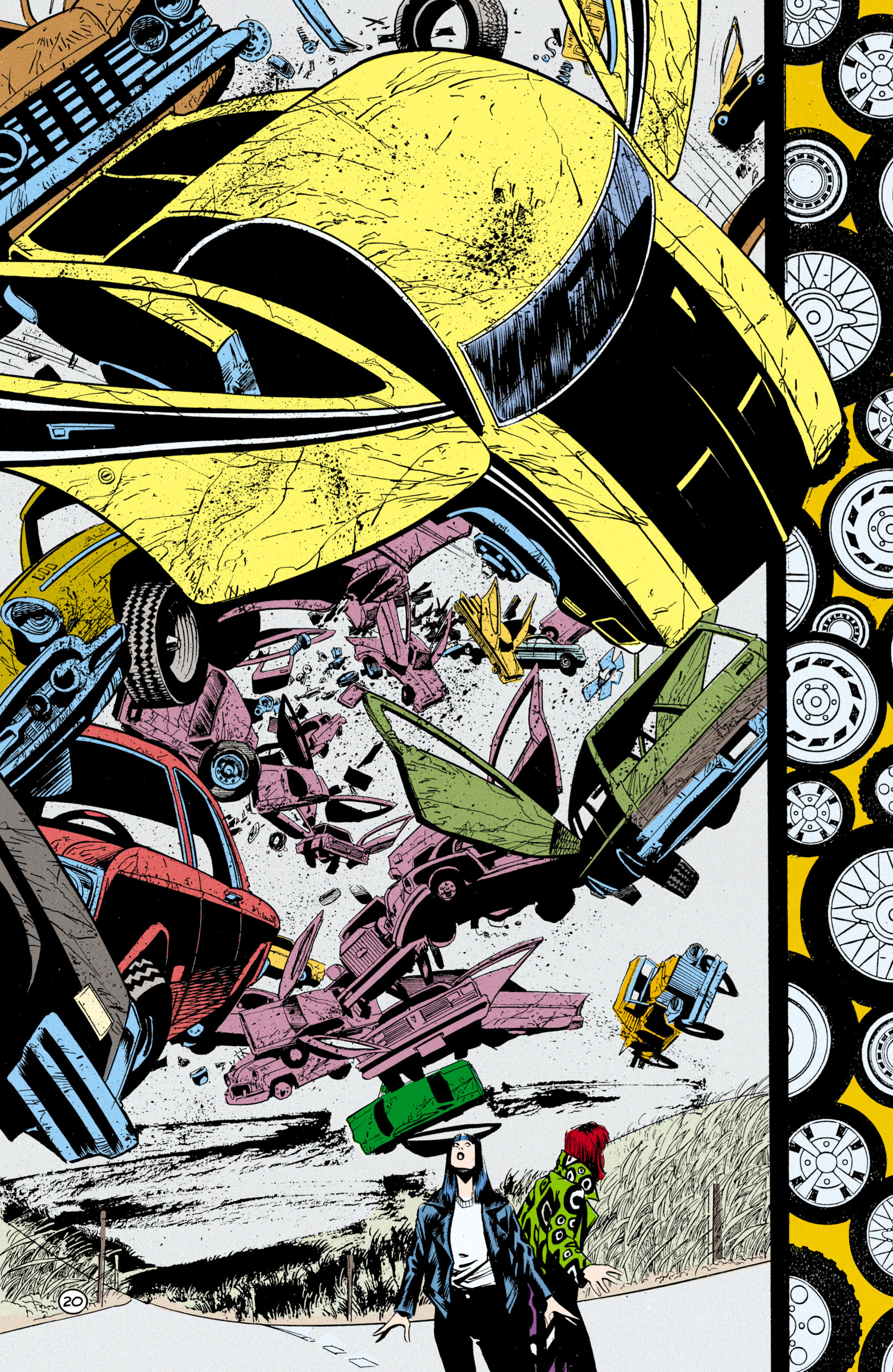 Read online Shade, the Changing Man comic -  Issue #24 - 21