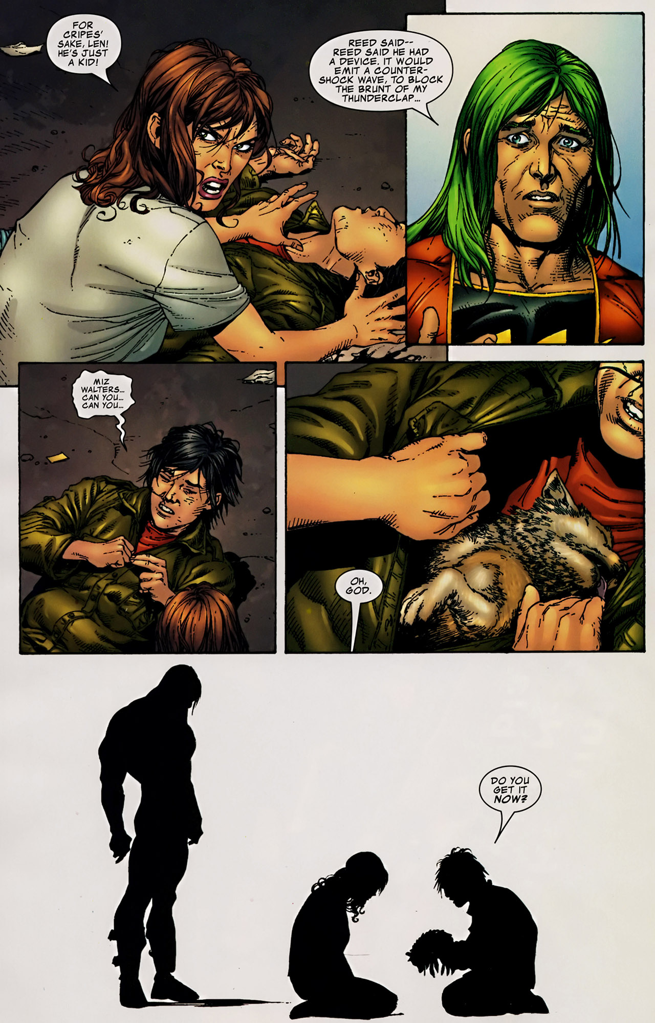 Read online The Incredible Hulk (2000) comic -  Issue #106 - 15