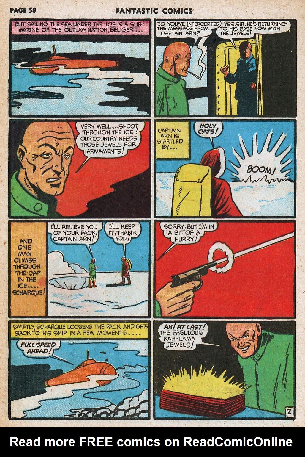 Read online Fantastic Comics comic -  Issue #20 - 58
