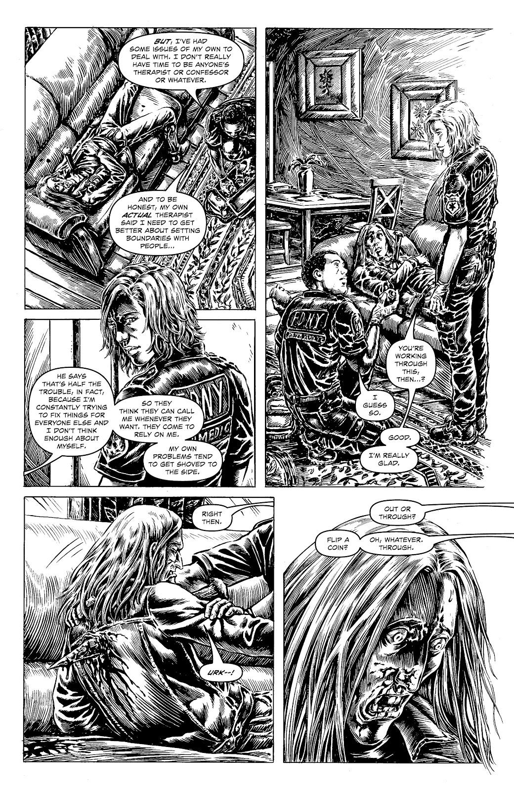 Read online Alan Moore's Cinema Purgatorio comic -  Issue #18 - 17