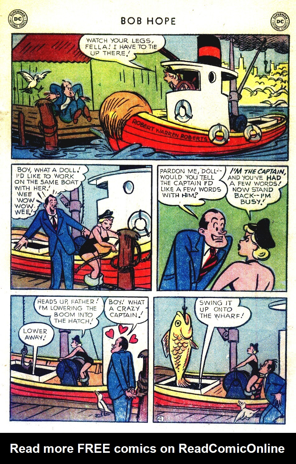 The Adventures of Bob Hope issue 27 - Page 6