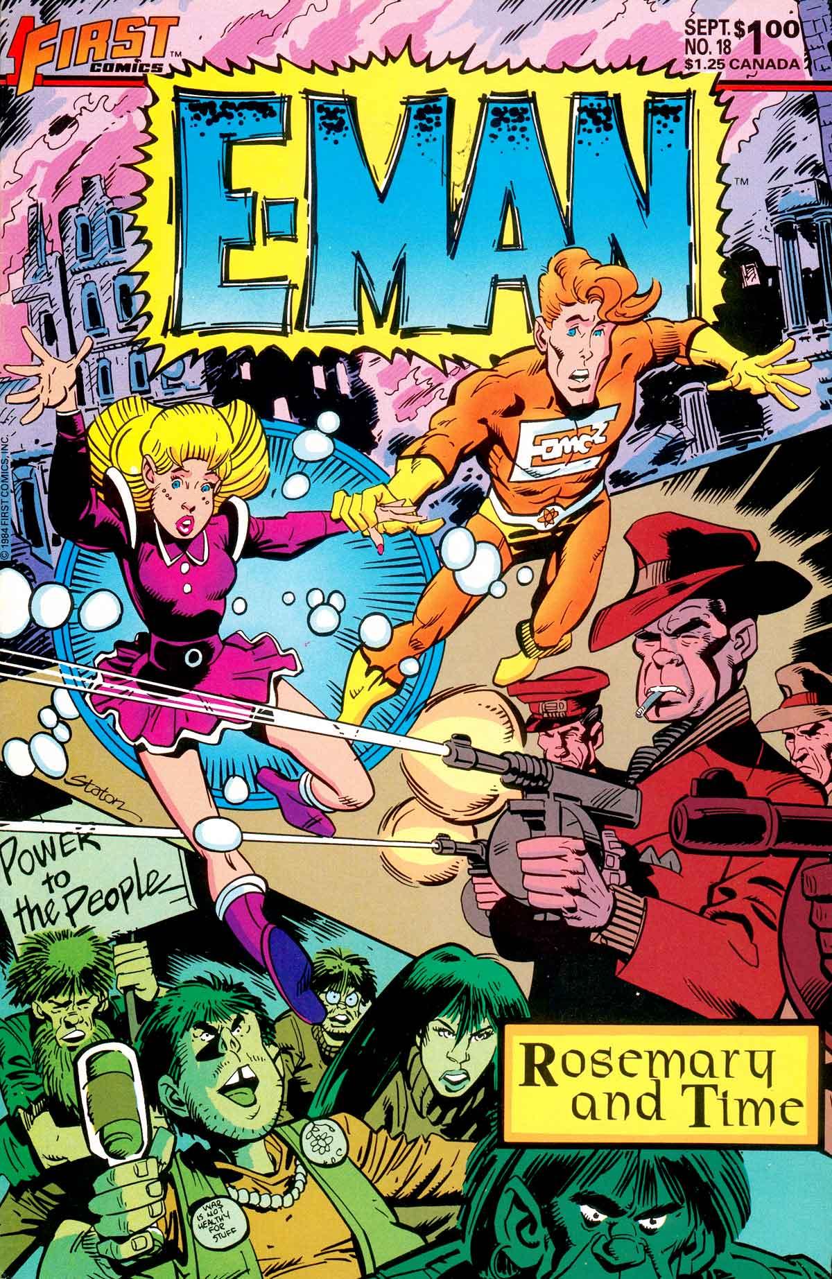 E-Man (1983) 18 Page 1