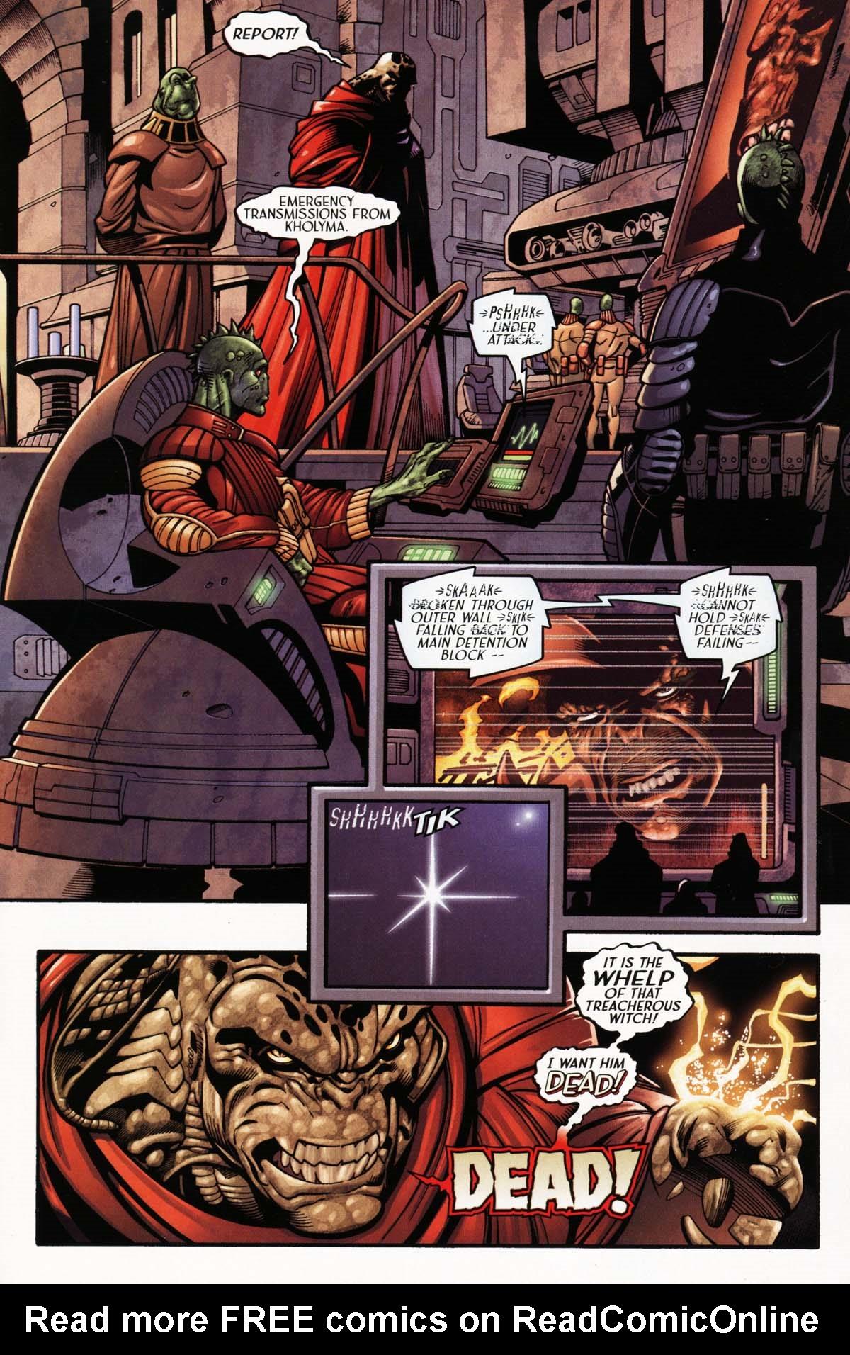 Read online Sigil (2000) comic -  Issue #25 - 21
