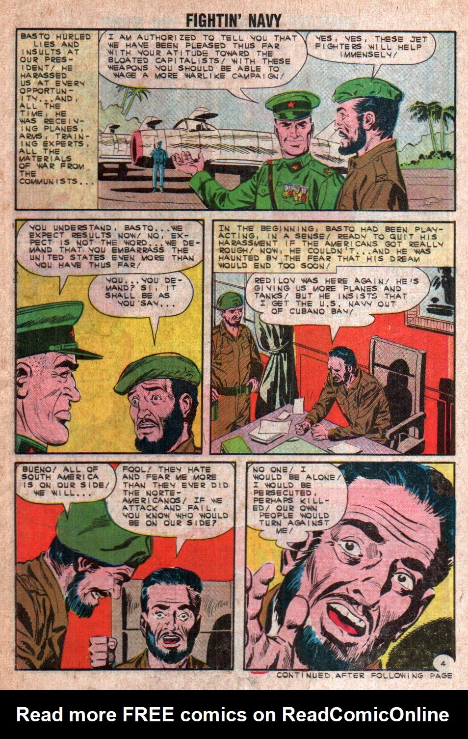 Read online Fightin' Navy comic -  Issue #108 - 14