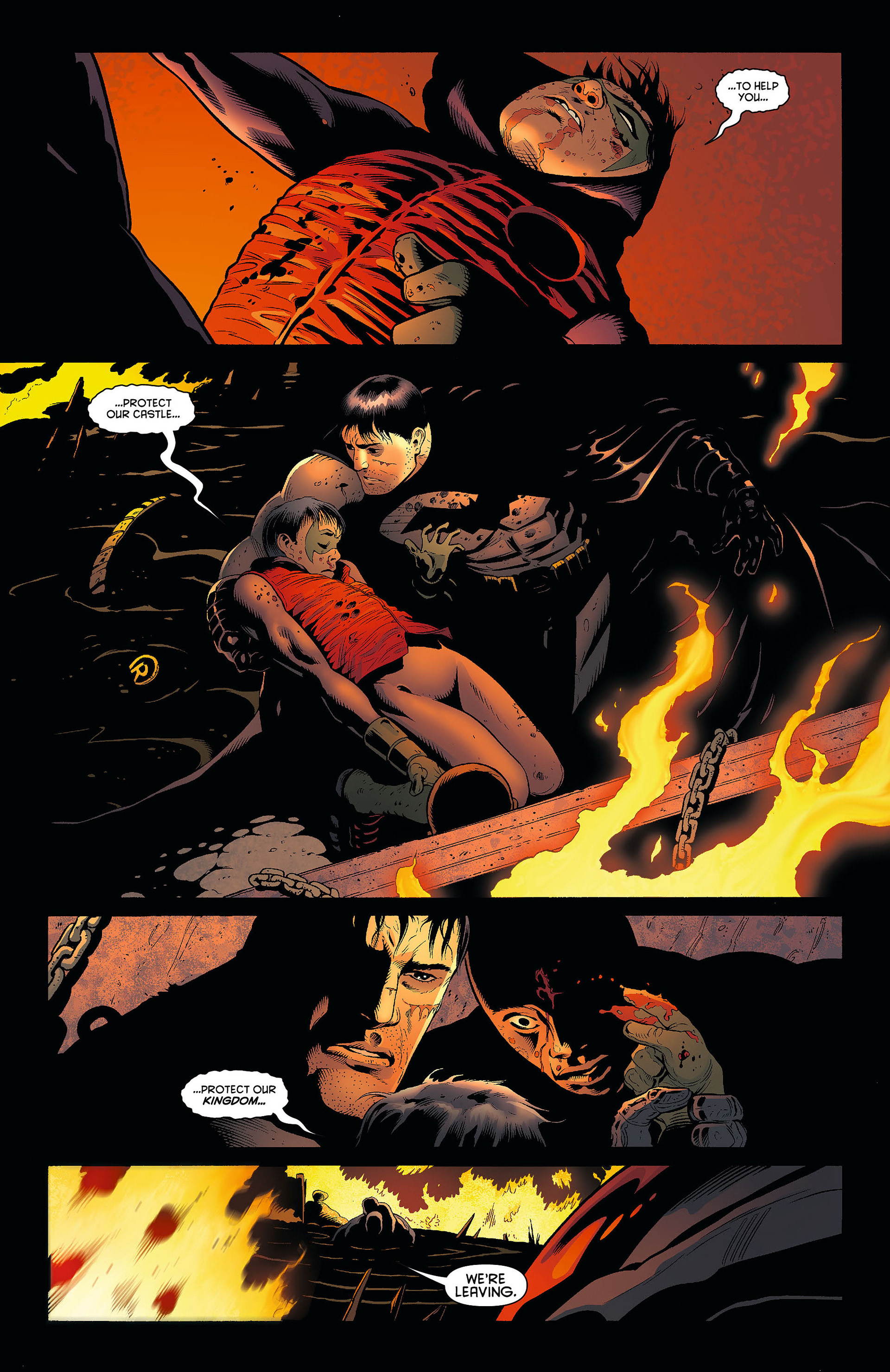 Read online Batman and Robin (2011) comic -  Issue #8 - 4